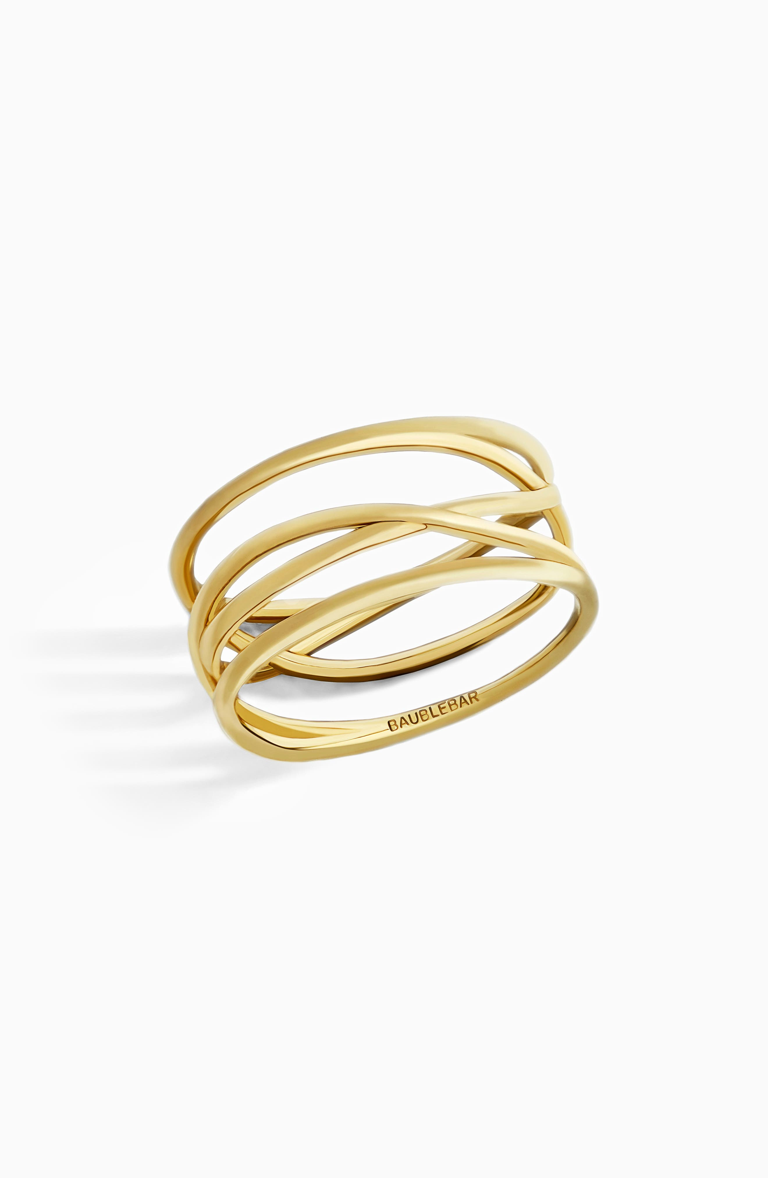 BaubleBar Ivy Everyday Fine Stack Ring