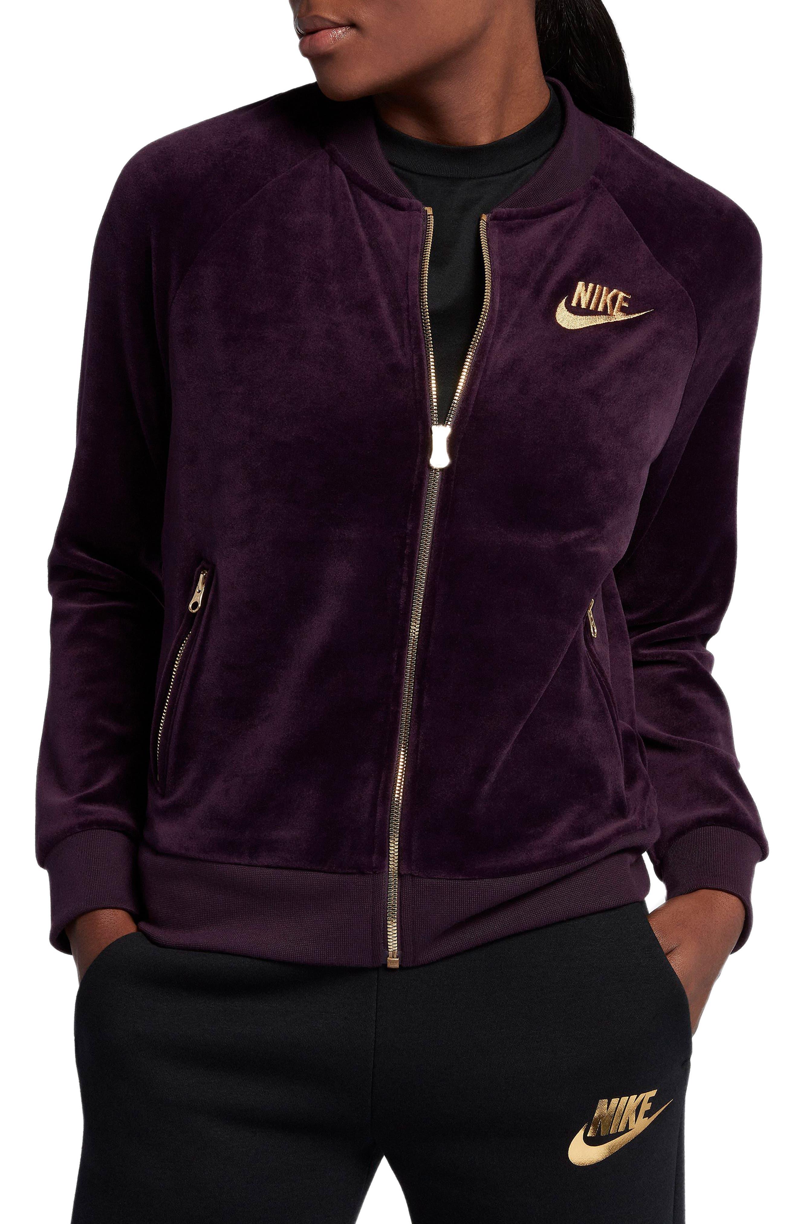 Main Image - Nike Velour Jacket