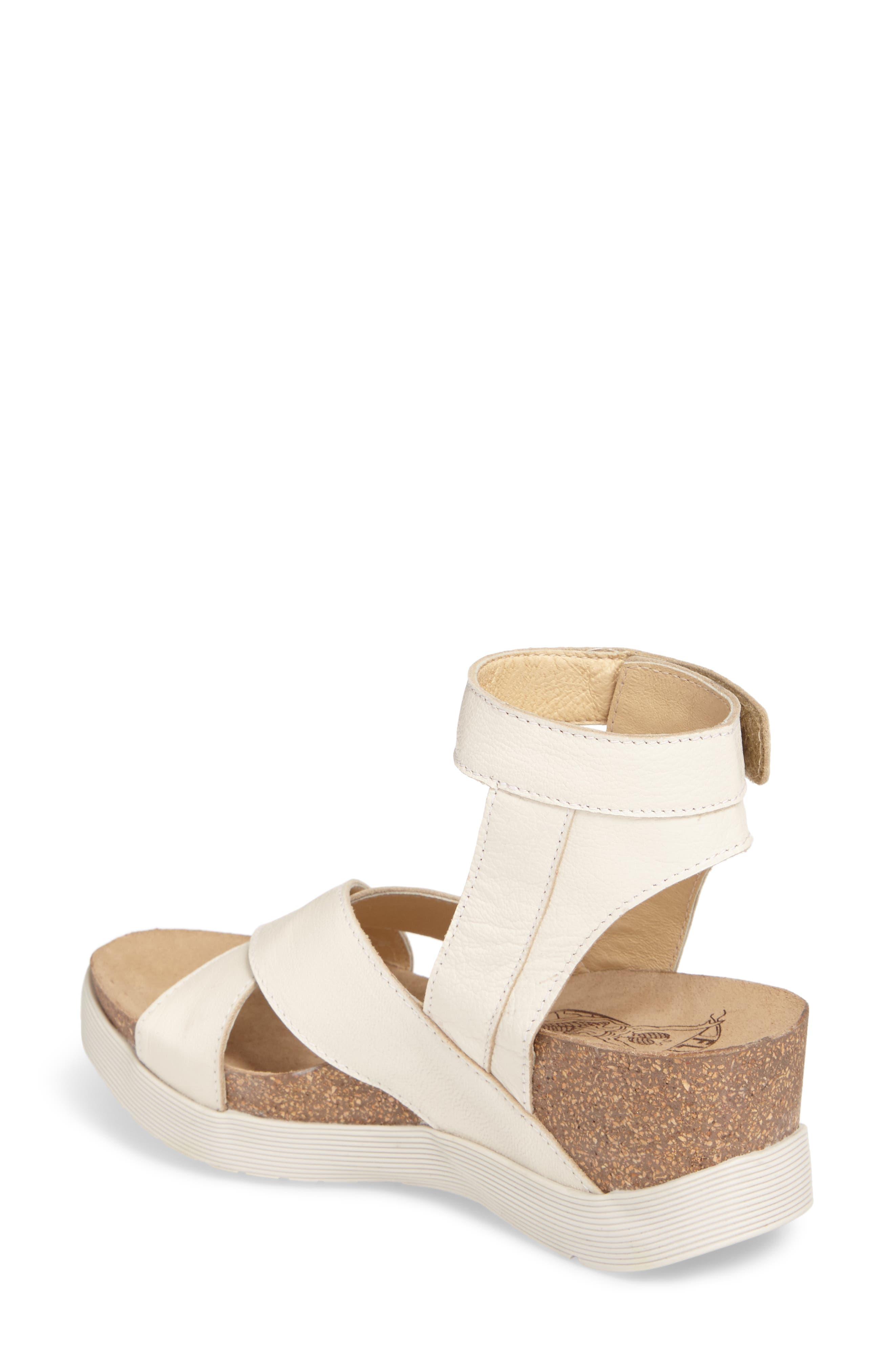 Alternate Image 2  - Fly London Weel Nubuck Leather Platform Sandal (Women)