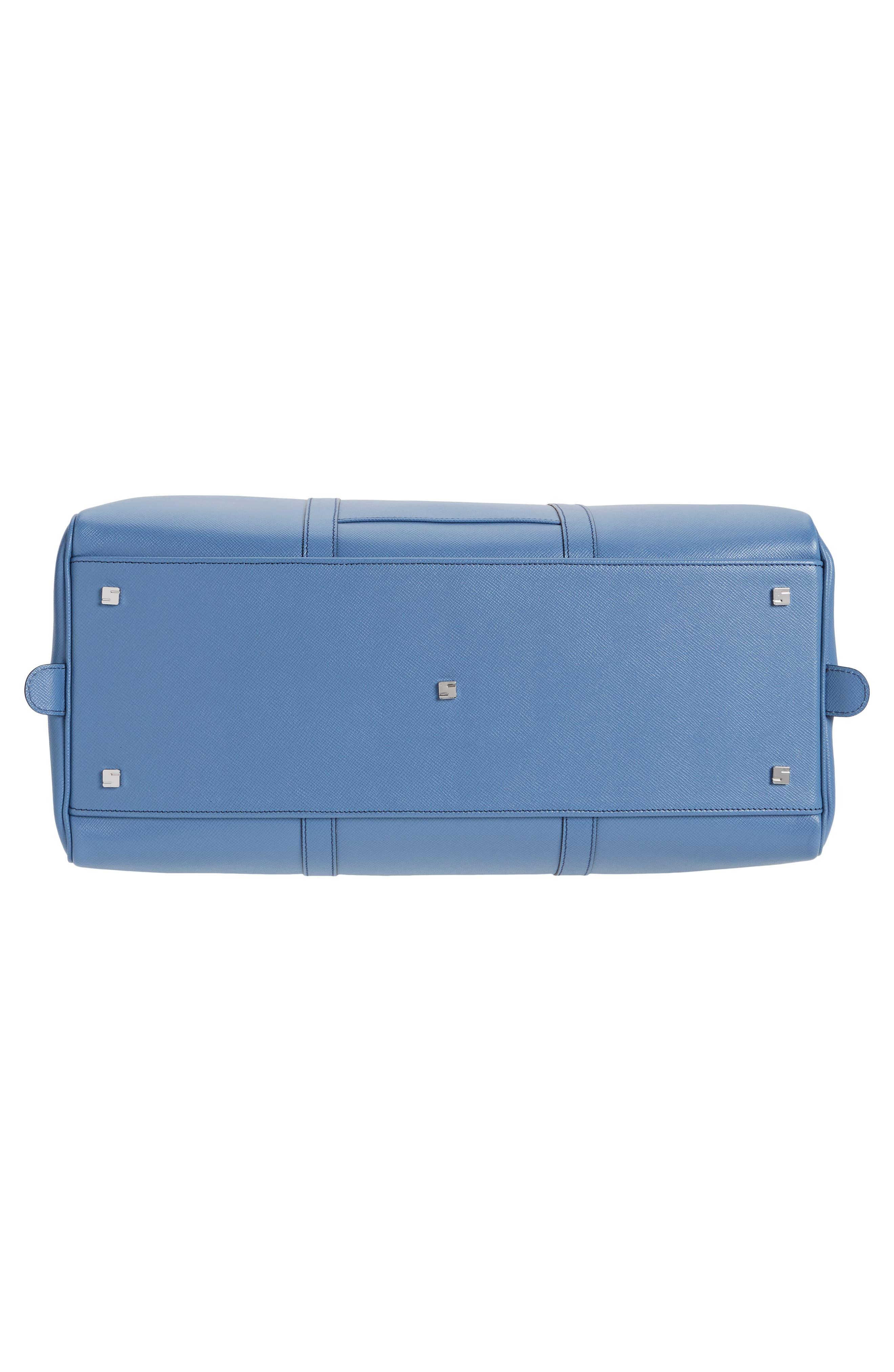 Alternate Image 6  - Serapian Milano Small Evolution Leather Duffel Bag
