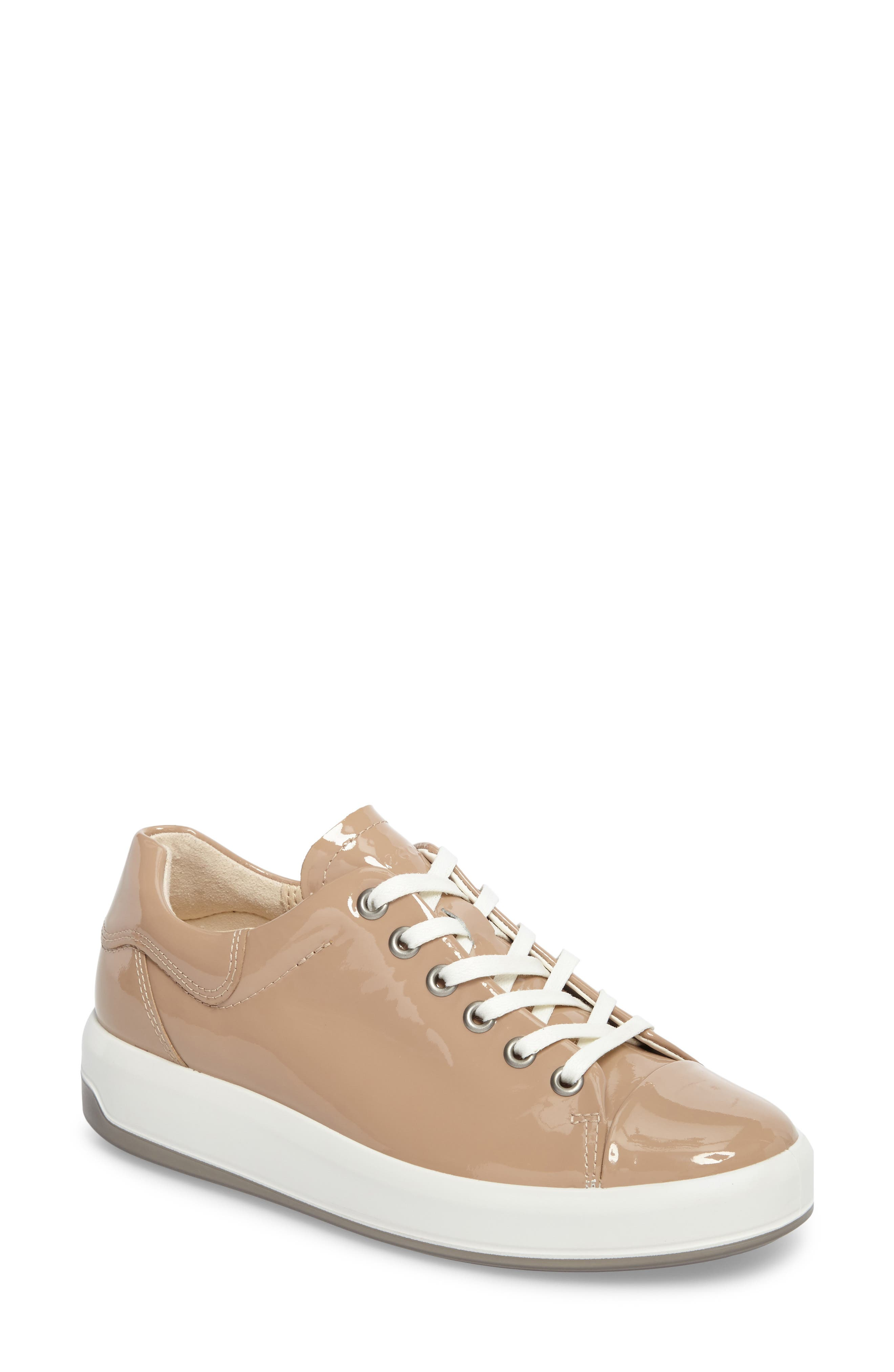 Soft 9 Sneaker,                         Main,                         color, Ginger Leather
