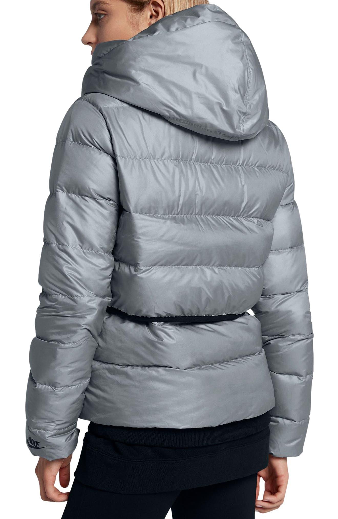 Alternate Image 2  - Nike Sportswear Women's Hooded Down Jacket