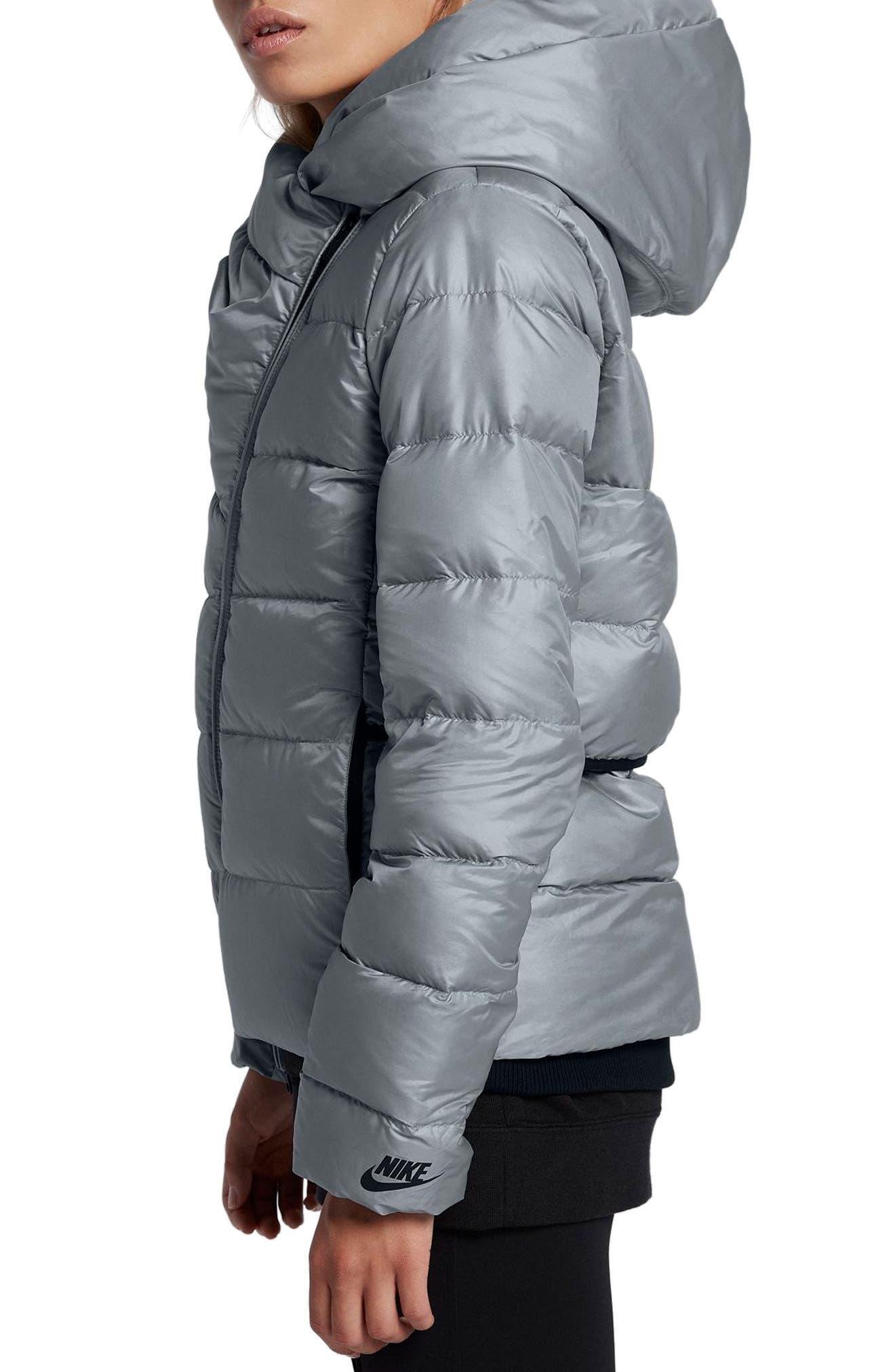 Alternate Image 3  - Nike Sportswear Women's Hooded Down Jacket