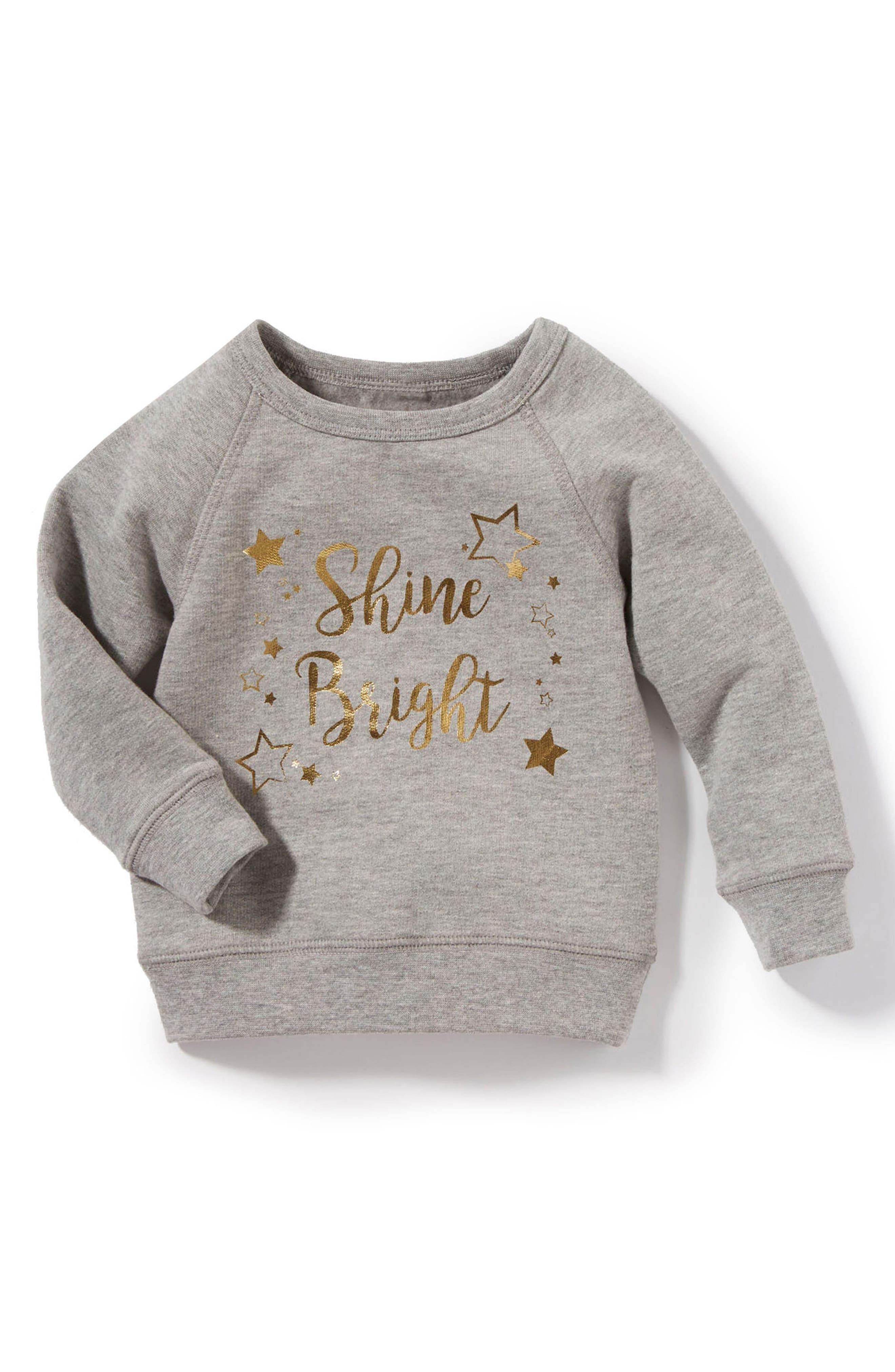 Peek Shine Bright Sweatshirt (Baby Girls)