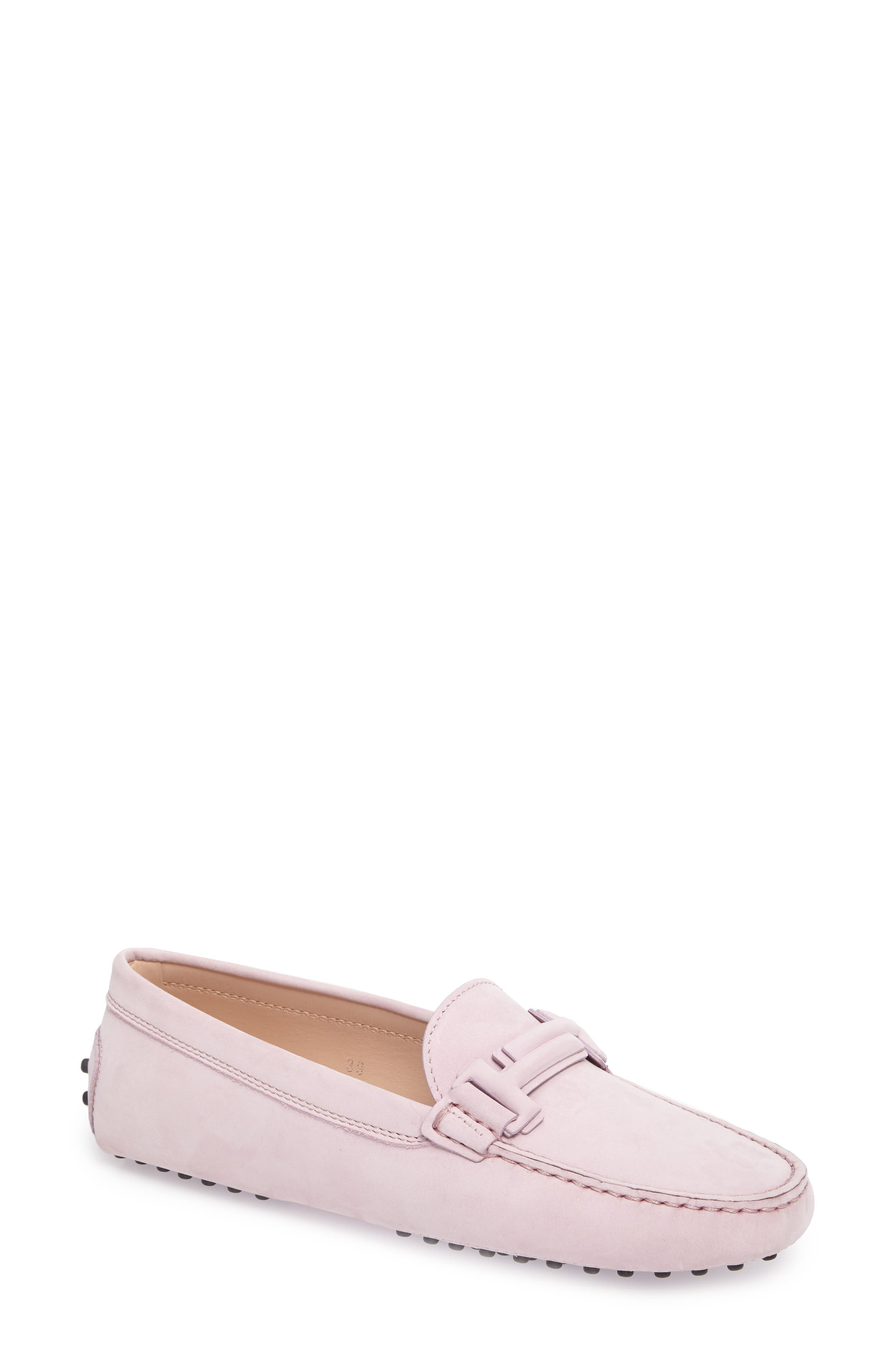Alternate Image 1 Selected - Tod's Gommini Covered Double T Loafer (Women)