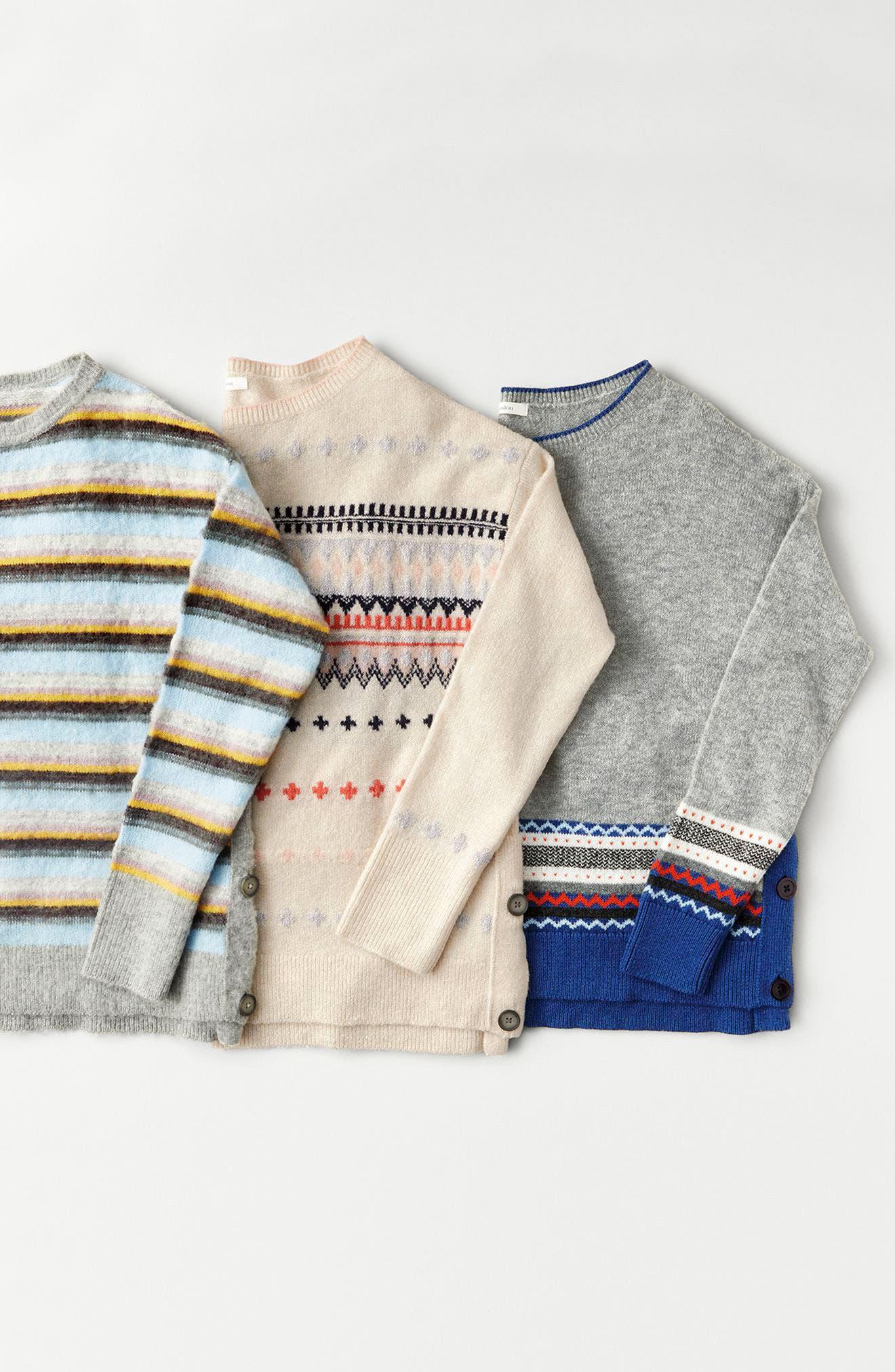 Alternate Image 7  - Caslon® Long Sleeve Side Button Sweater (Regular & Petite)