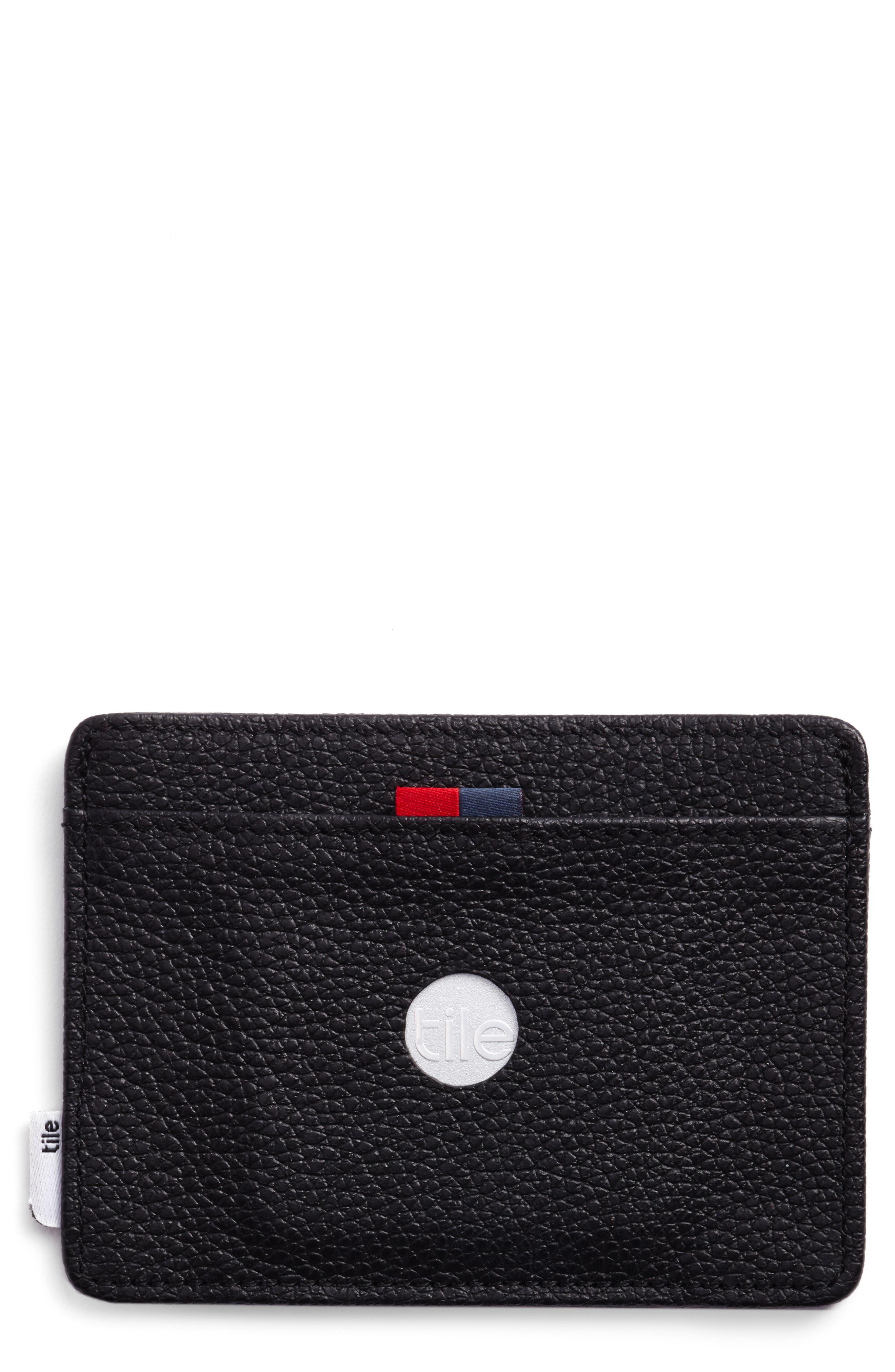 Alternate Image 2  - Herschel Supply Co. Tile Slim Charlie Leather Card Case