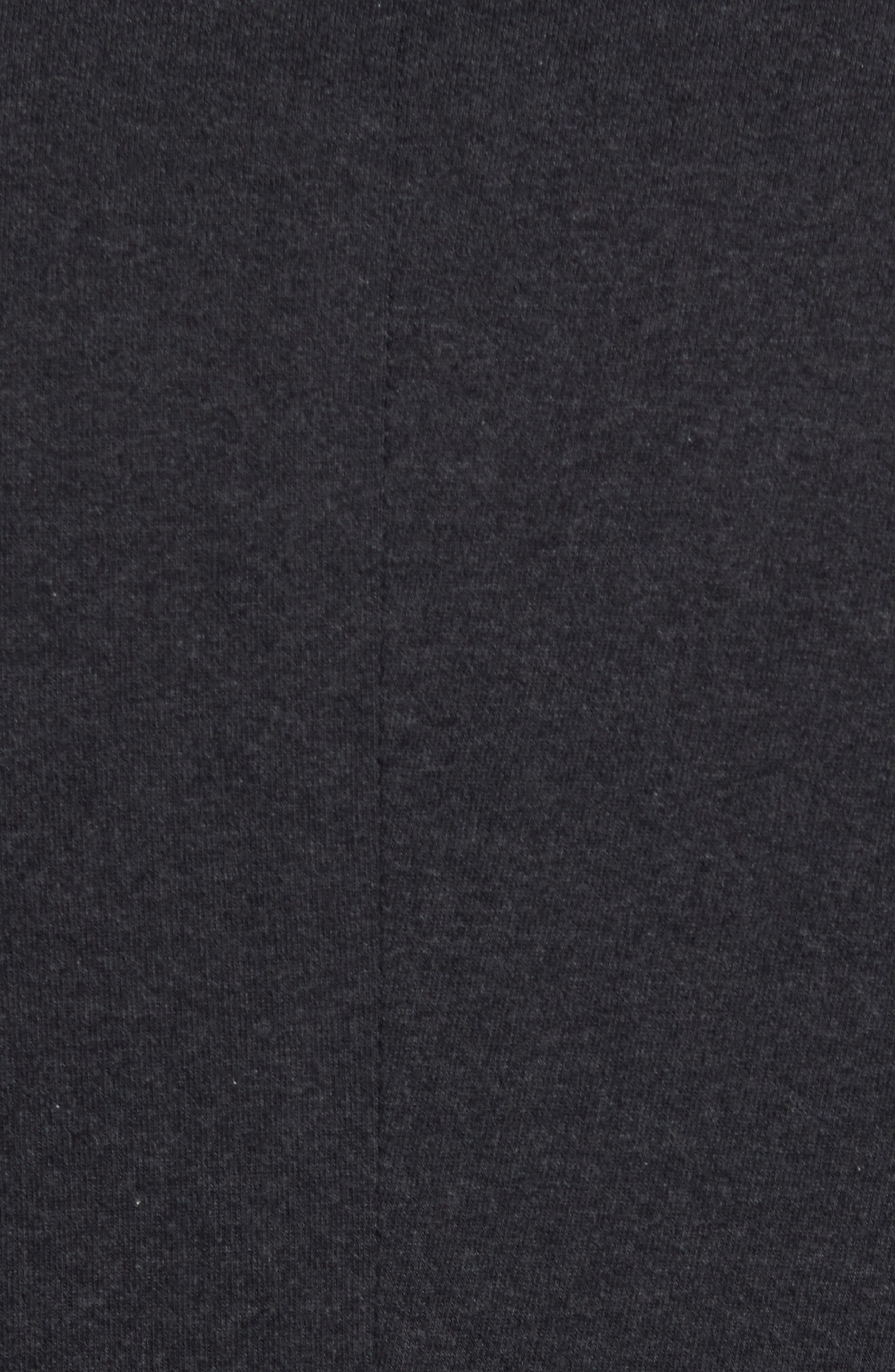 Tailored Jersey Jacket,                             Alternate thumbnail 5, color,                             Heather Dark Navy