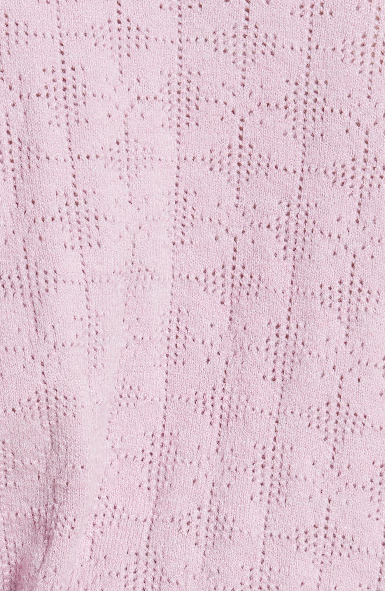 Alternate Image 6  - Free People Love Lace Sweater