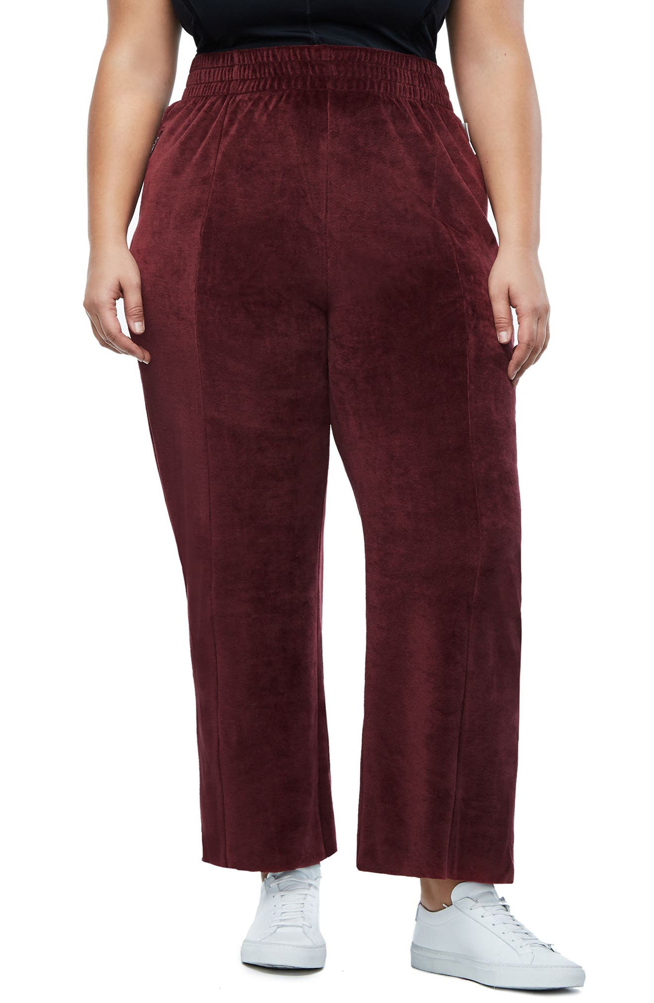 Alternate Image 3  - Good American Good Sweats The High Waist Sweatpants (Extended Sizes)