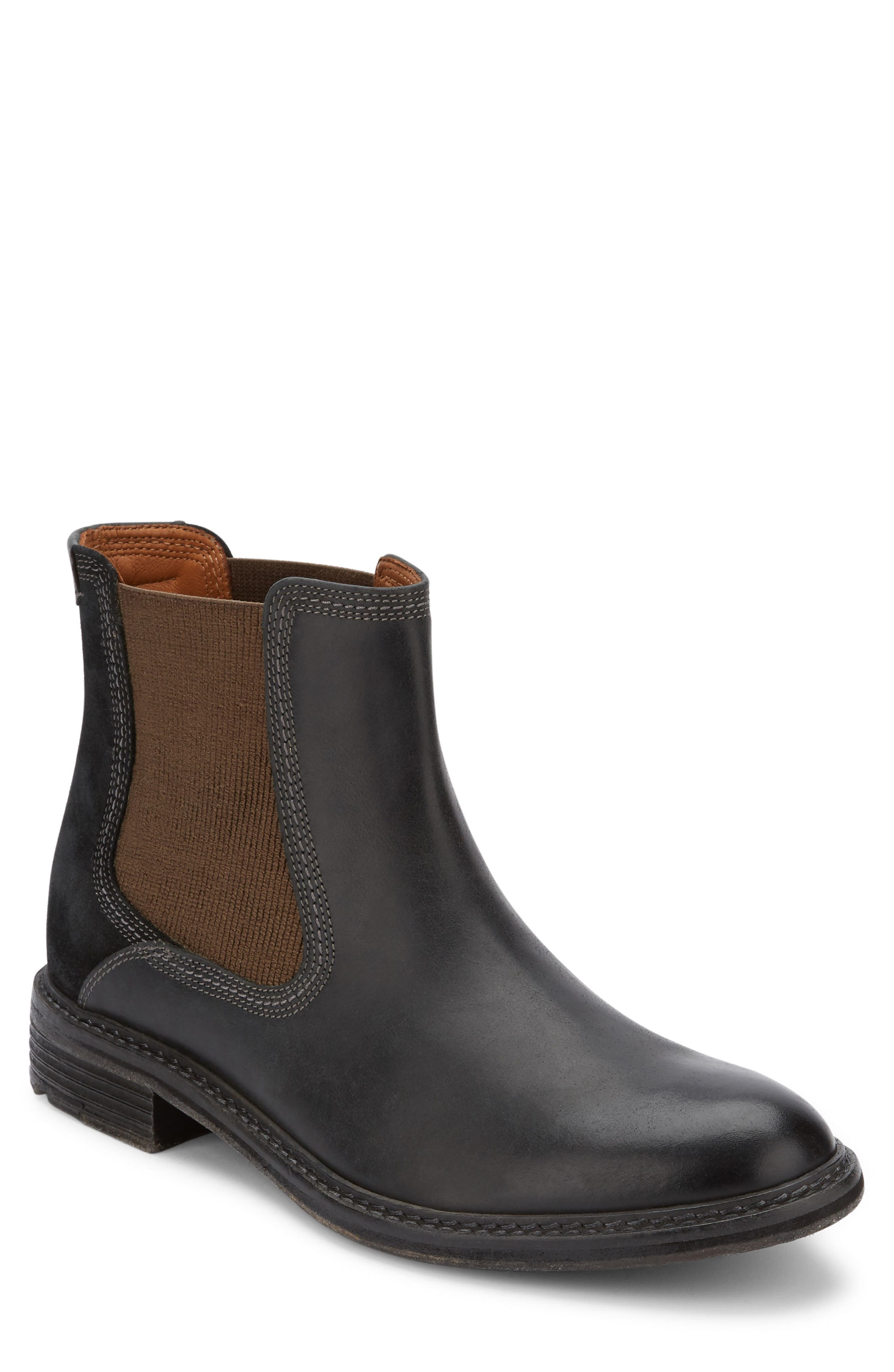 Hendrick Chelsea Boot,                             Main thumbnail 1, color,                             Black