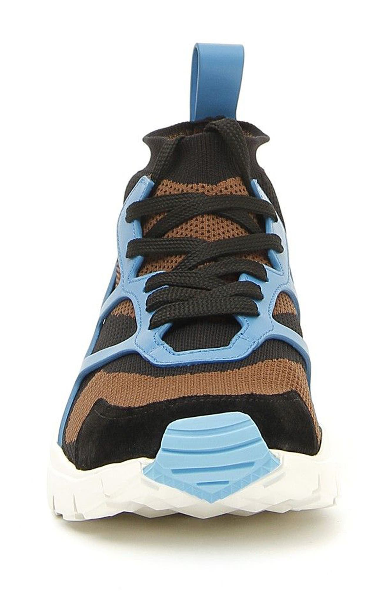 Sound High Sneaker,                             Alternate thumbnail 4, color,                             Army Green/ Nero/ Pool Blue