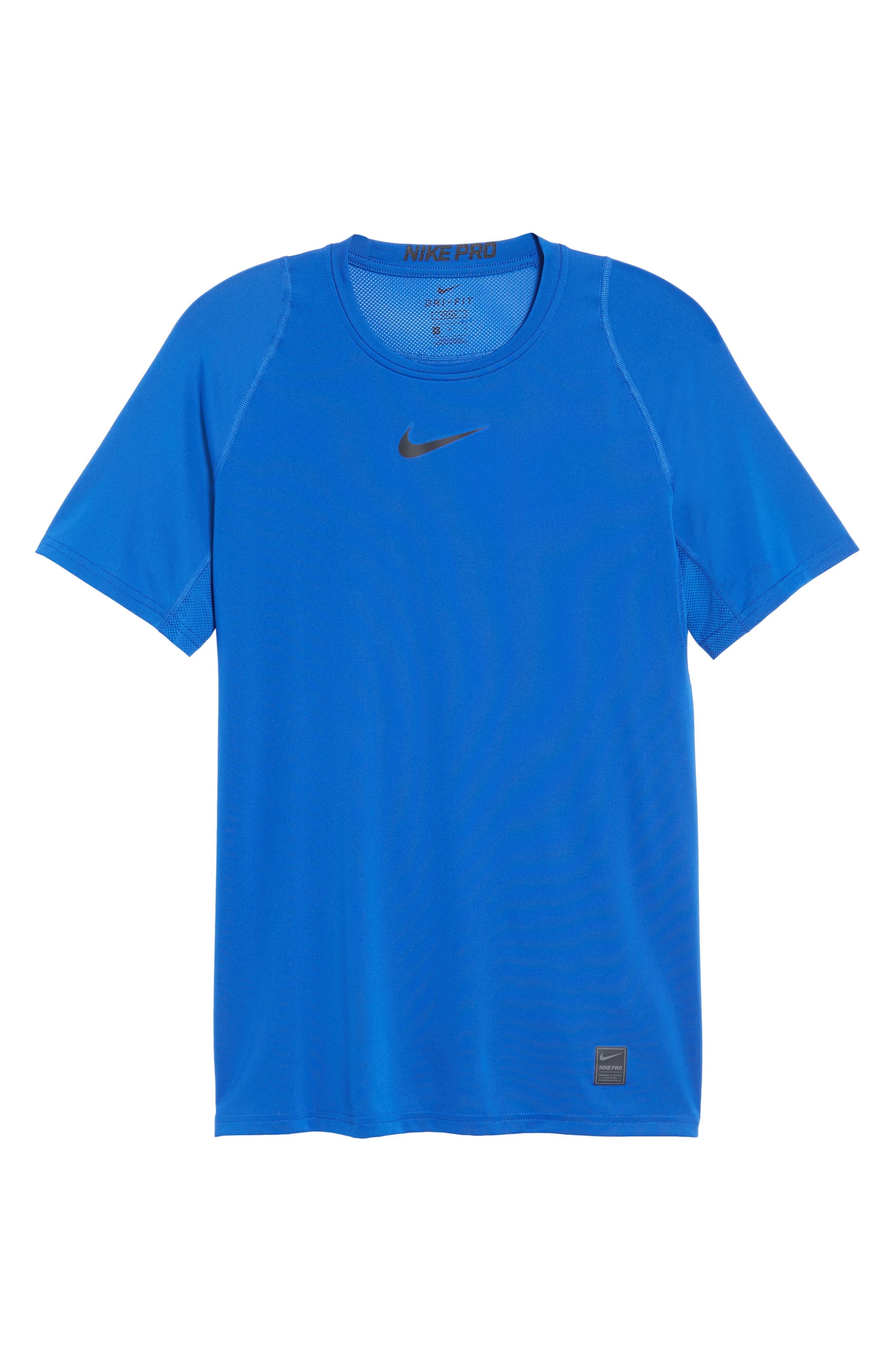 Alternate Image 6  - Nike Pro Fitted T-Shirt