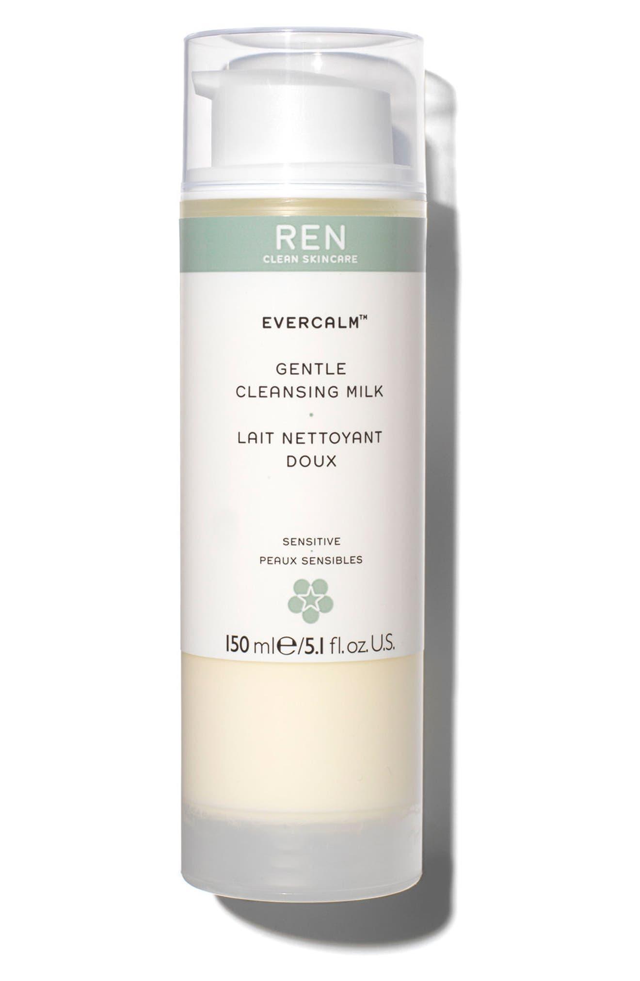 Alternate Image 1 Selected - REN 'Evercalm™' Gentle Cleansing Milk