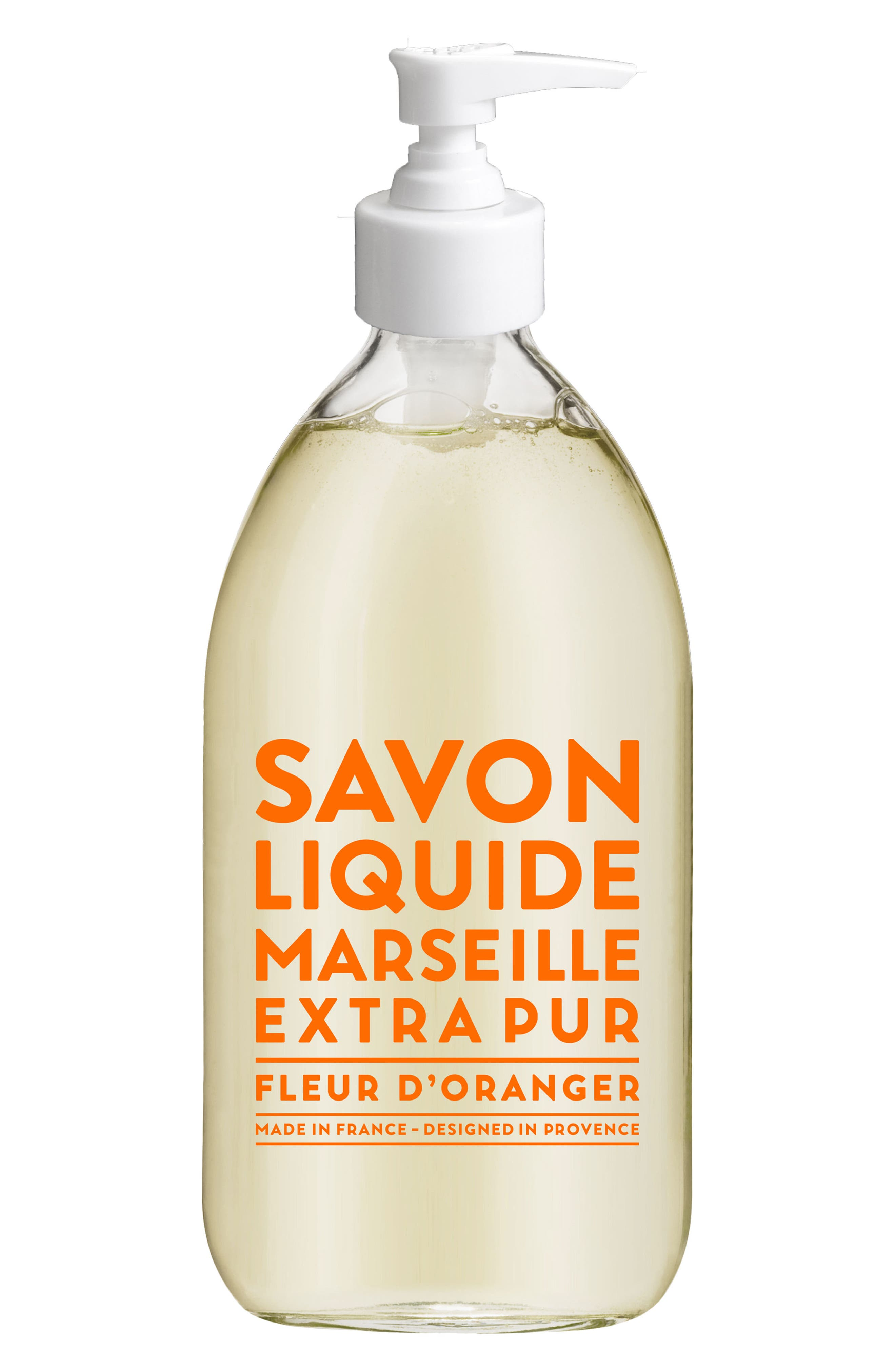 Orange Blossom Liquid Marseille Soap,                         Main,                         color, No Color