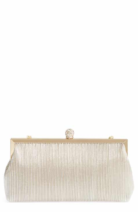 Nina Aneka Pleated Shine Clutch cedf1e5bd72b9