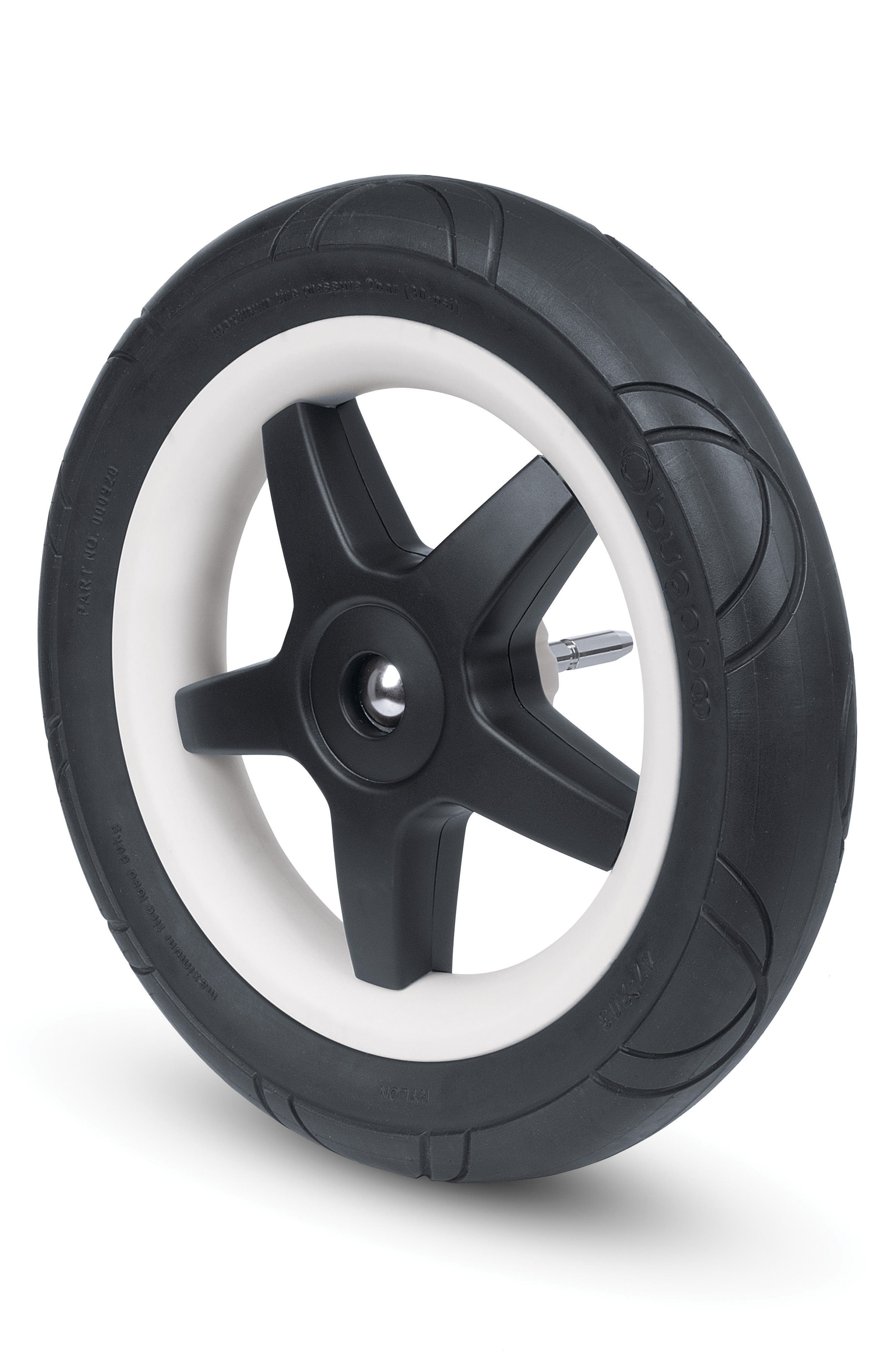 4-Piece Foam Wheel Set for Donkey Series Strollers,                         Main,                         color, Black