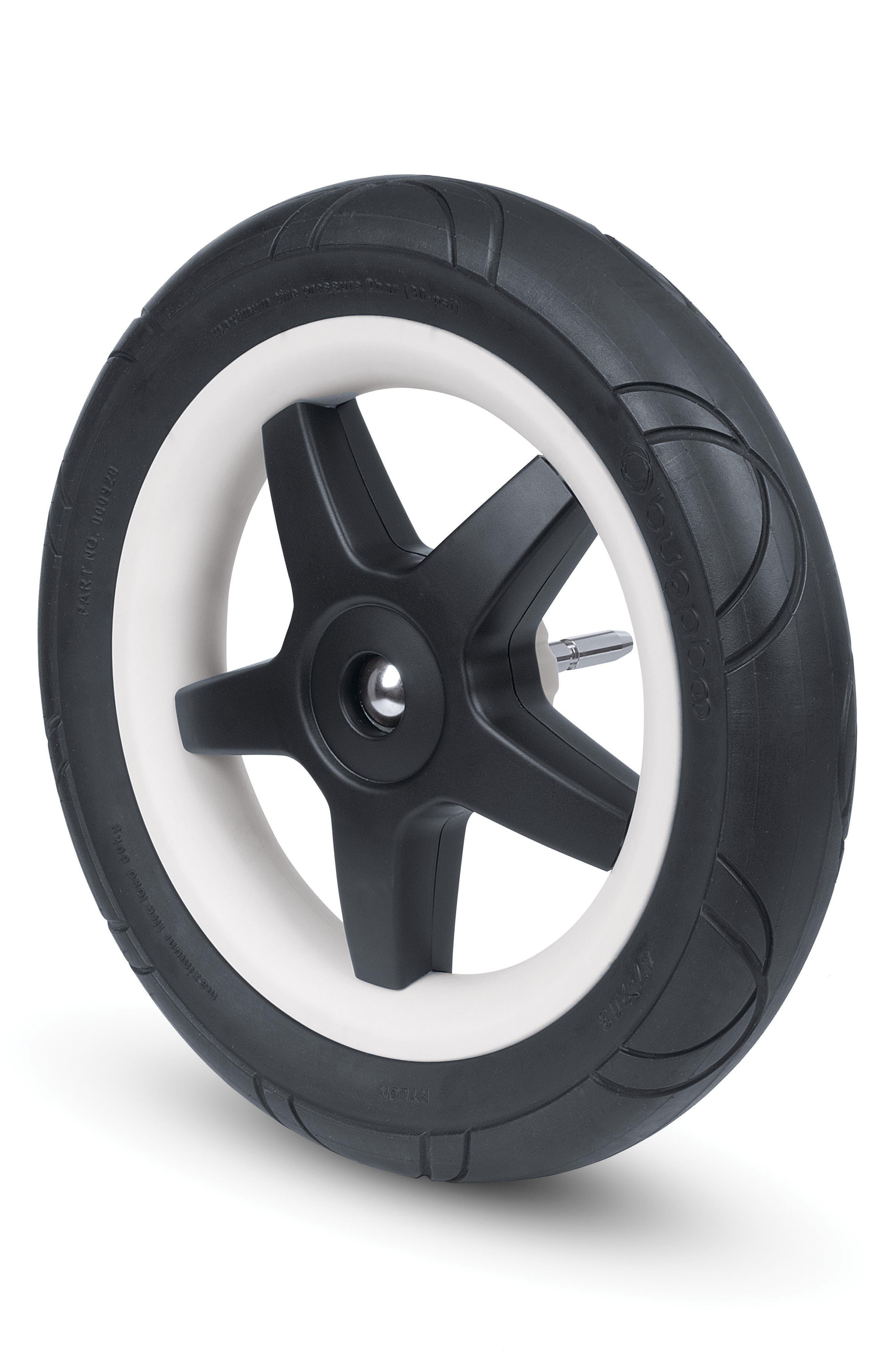 4-Piece Foam Wheel Set for Donkey Series Strollers,                         Main,                         color, Black