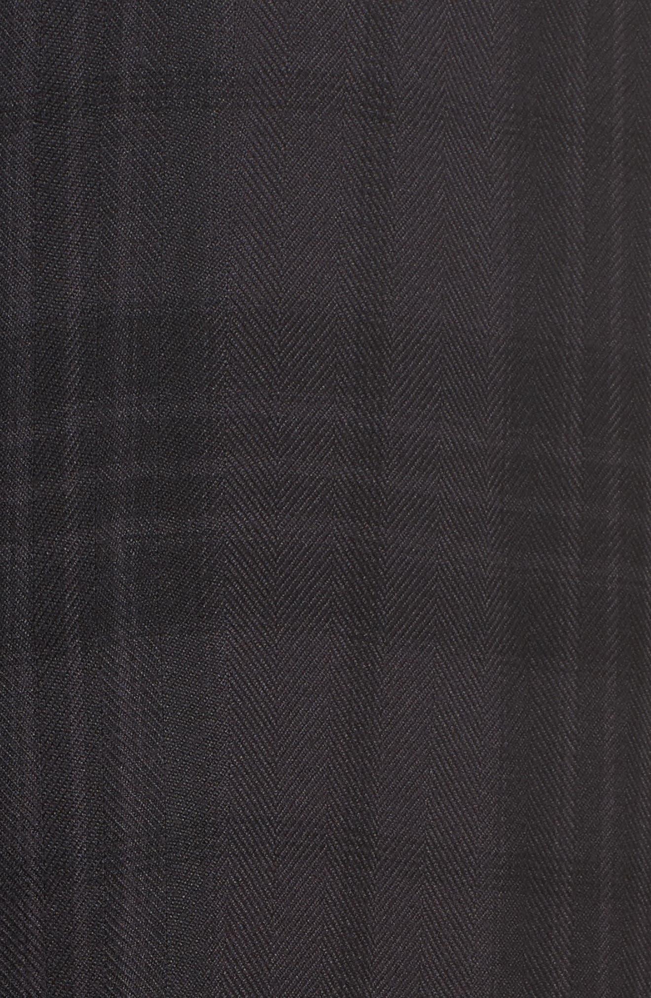 Plaid Pajamas,                             Alternate thumbnail 6, color,                             Onyx/ Jet