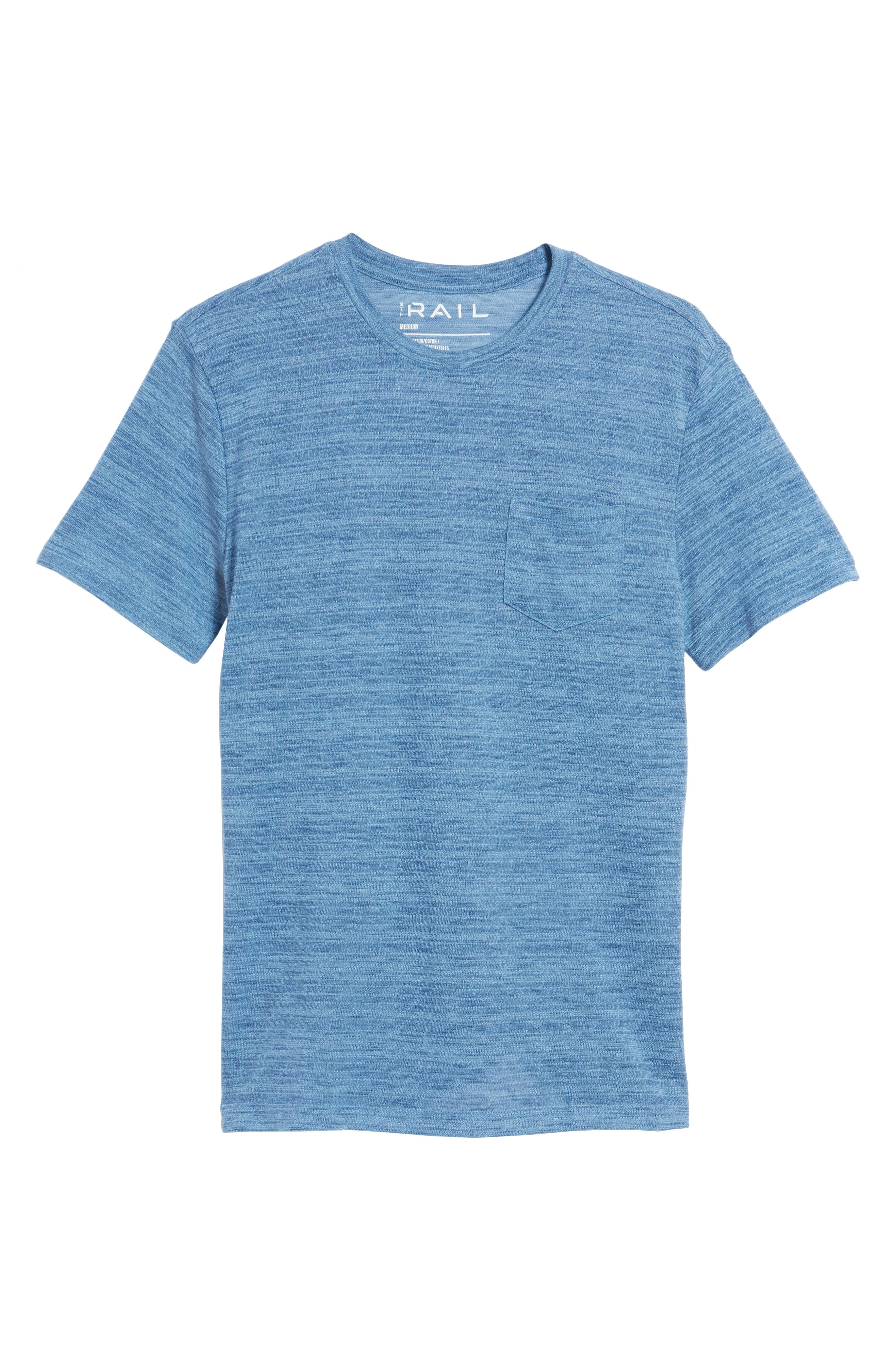 Alternate Image 6  - The Rail Slubbed Pocket T-Shirt