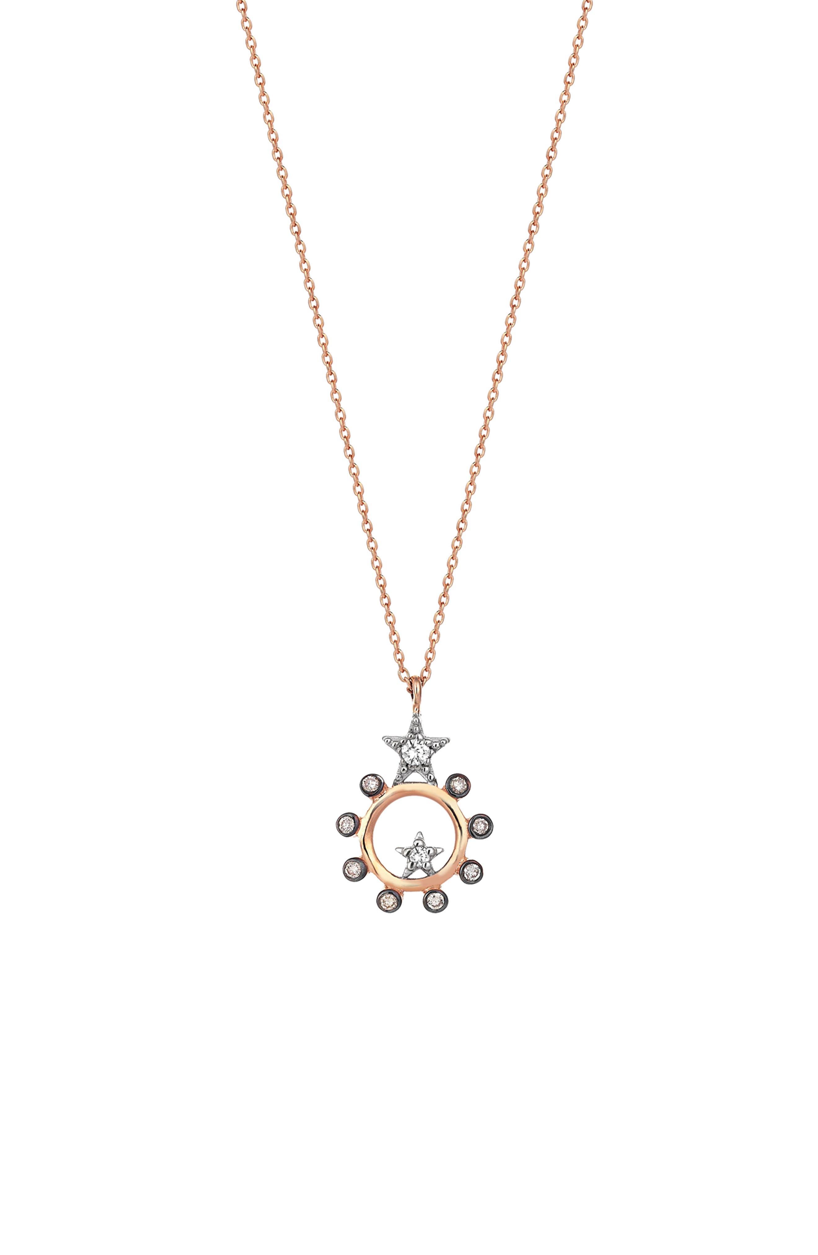 Main Image - Kismet by Milka Eclectic Diamond Star Pendant Necklace