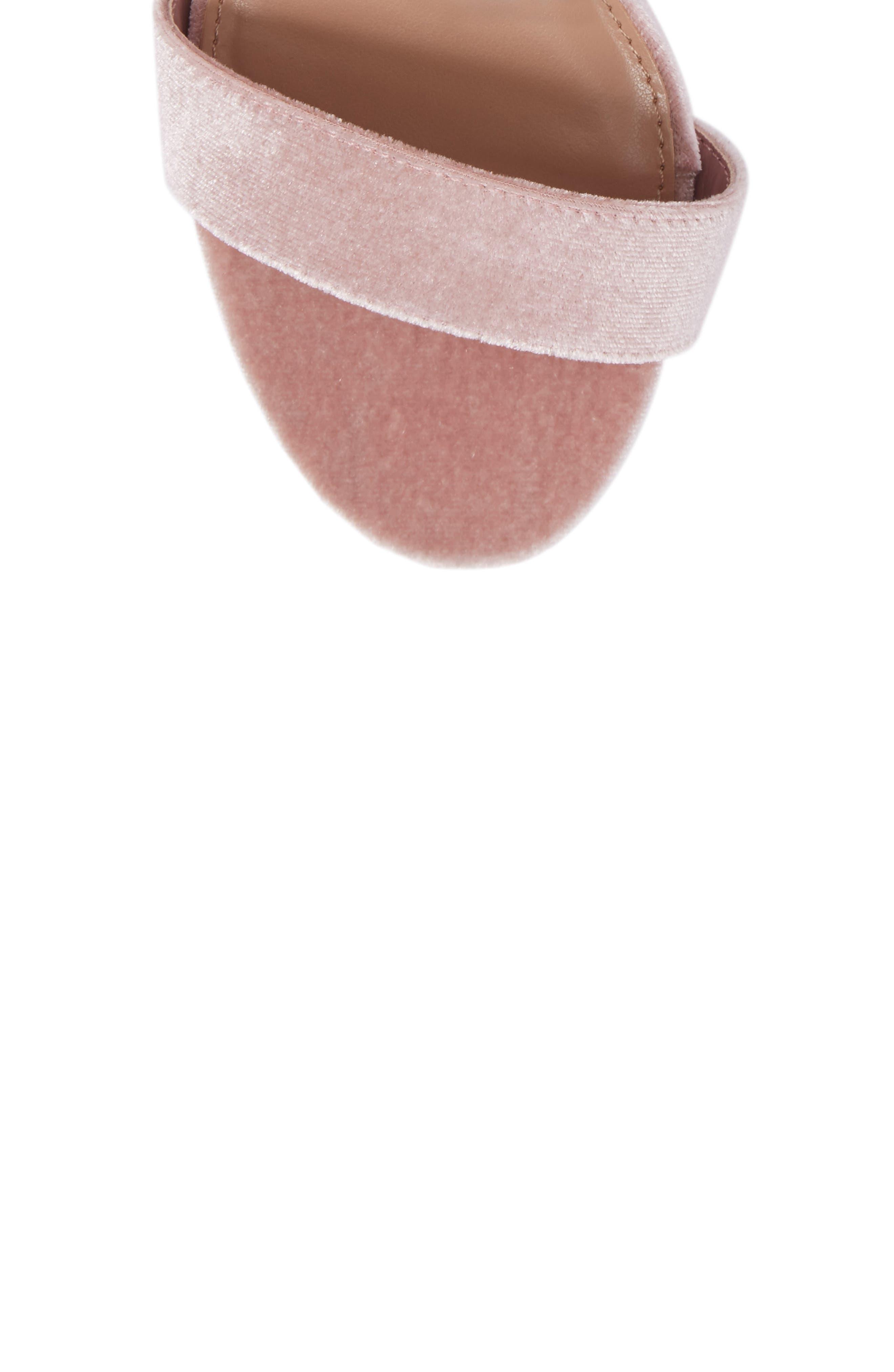 Promise Sandal,                             Alternate thumbnail 5, color,                             Blush Fabric