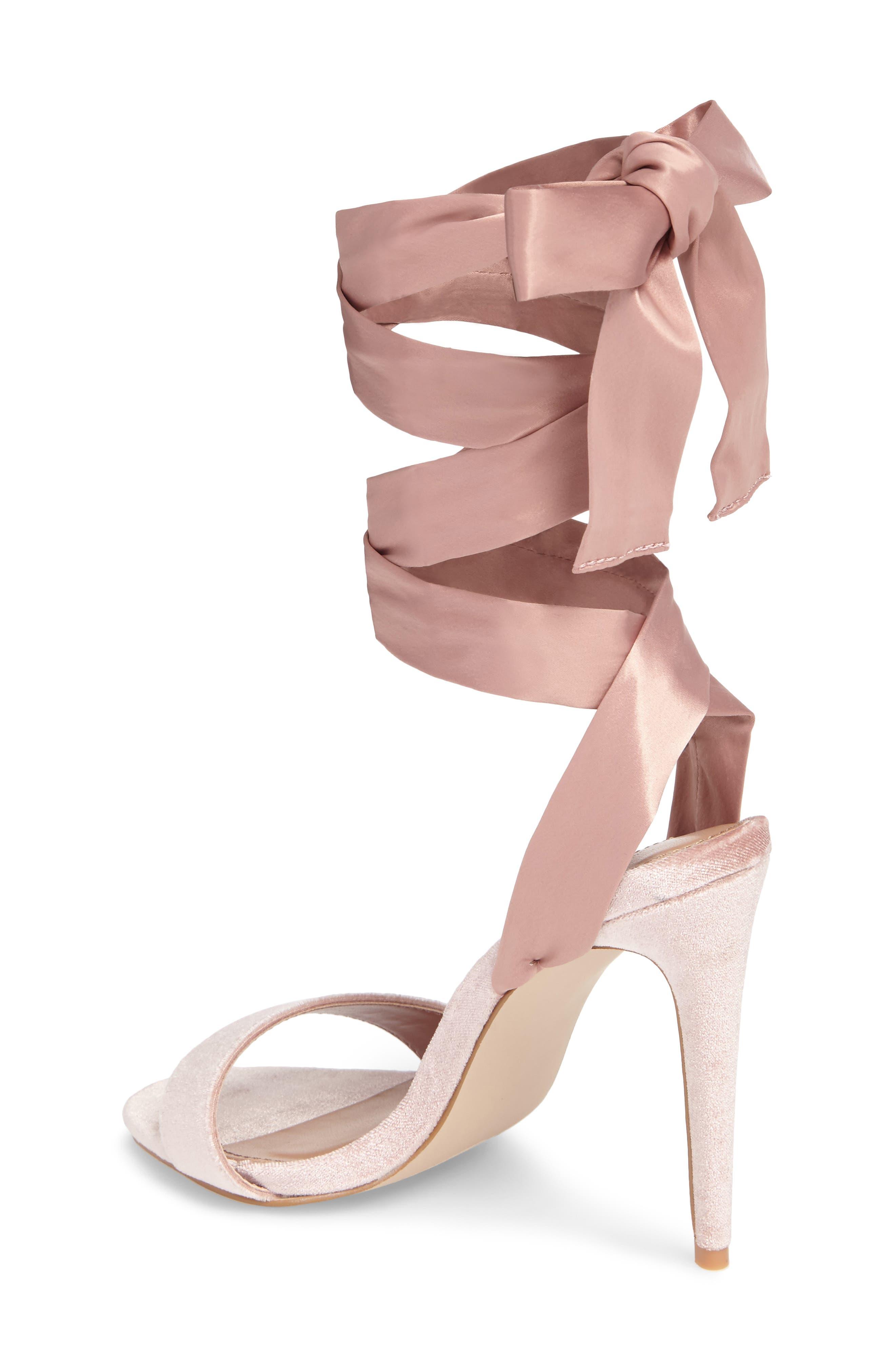 Promise Sandal,                             Alternate thumbnail 2, color,                             Blush Fabric