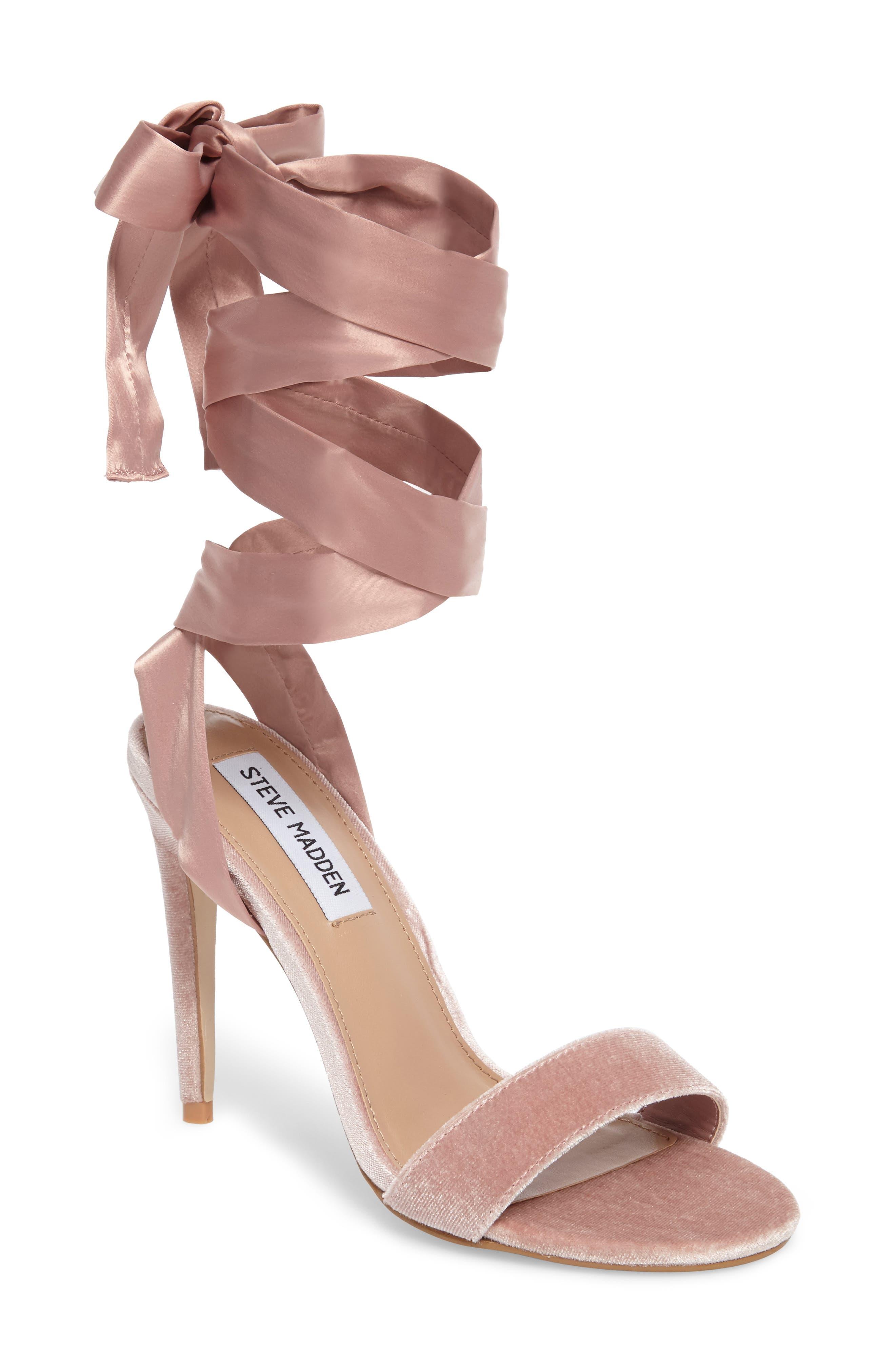 Promise Sandal,                             Main thumbnail 1, color,                             Blush Fabric