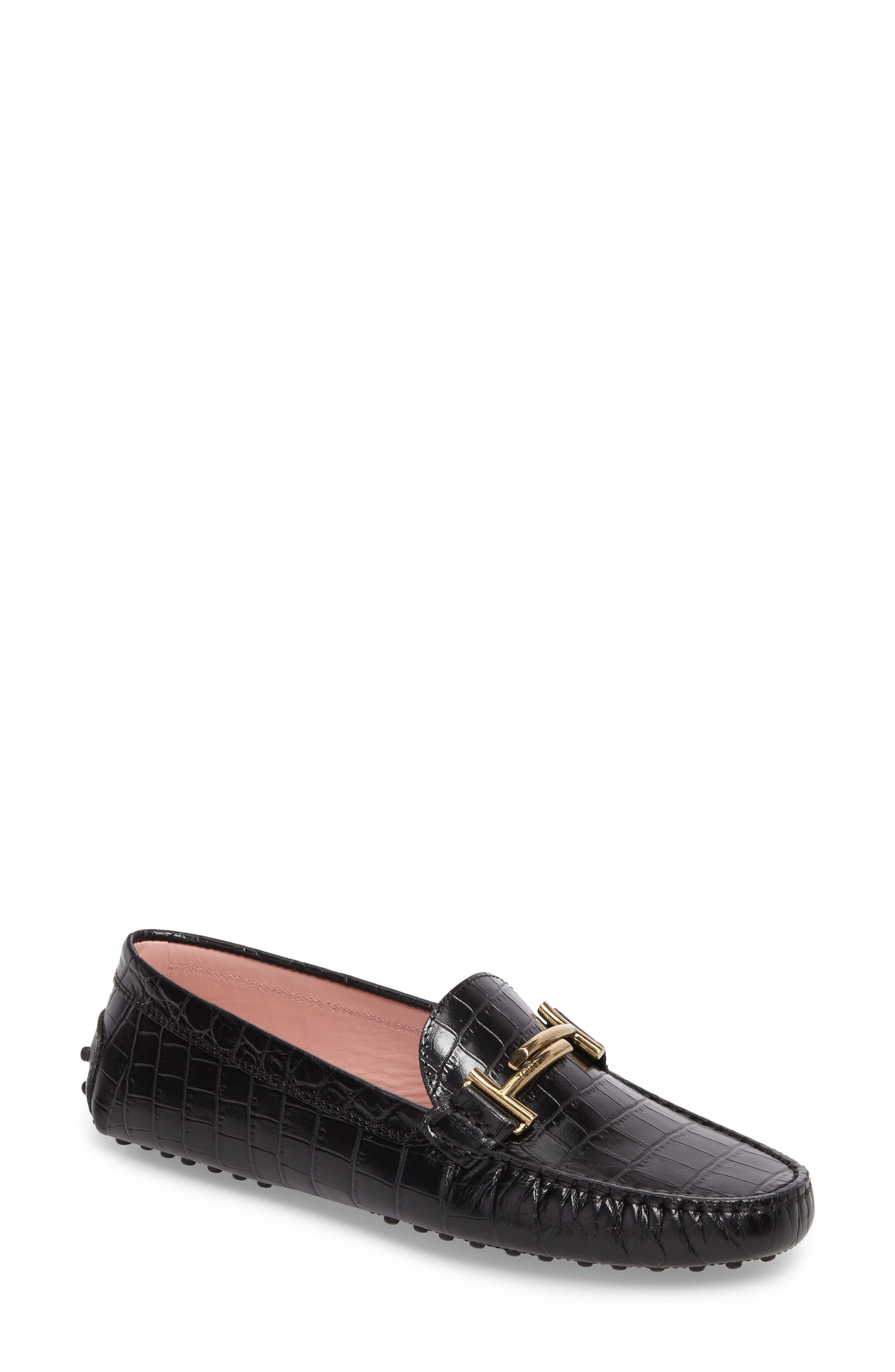 Alternate Image 1 Selected - Tod's 'Double T' Bit Loafer (Women)