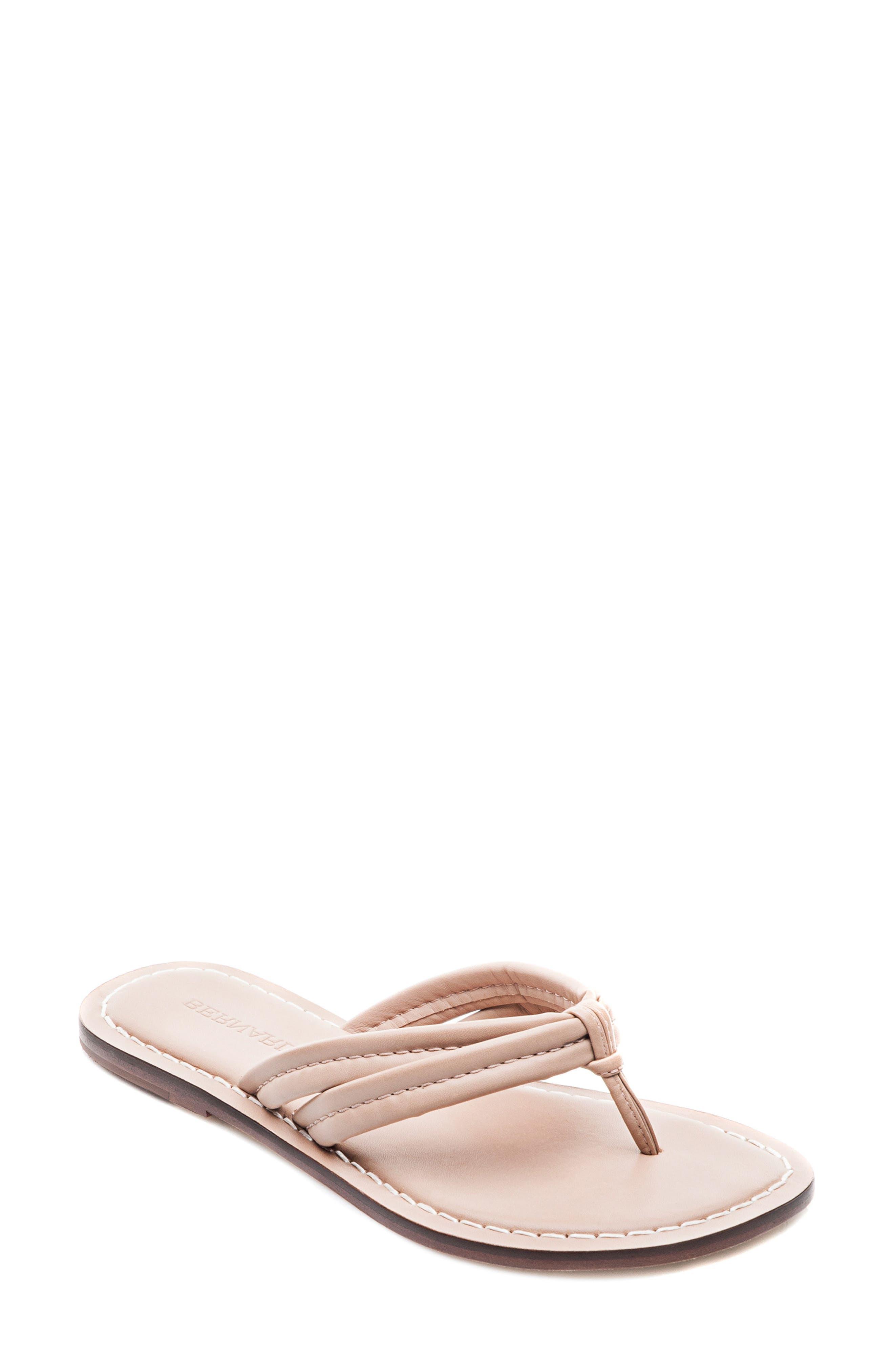 Bernardo Miami Sandal,                         Main,                         color, Blush Leather