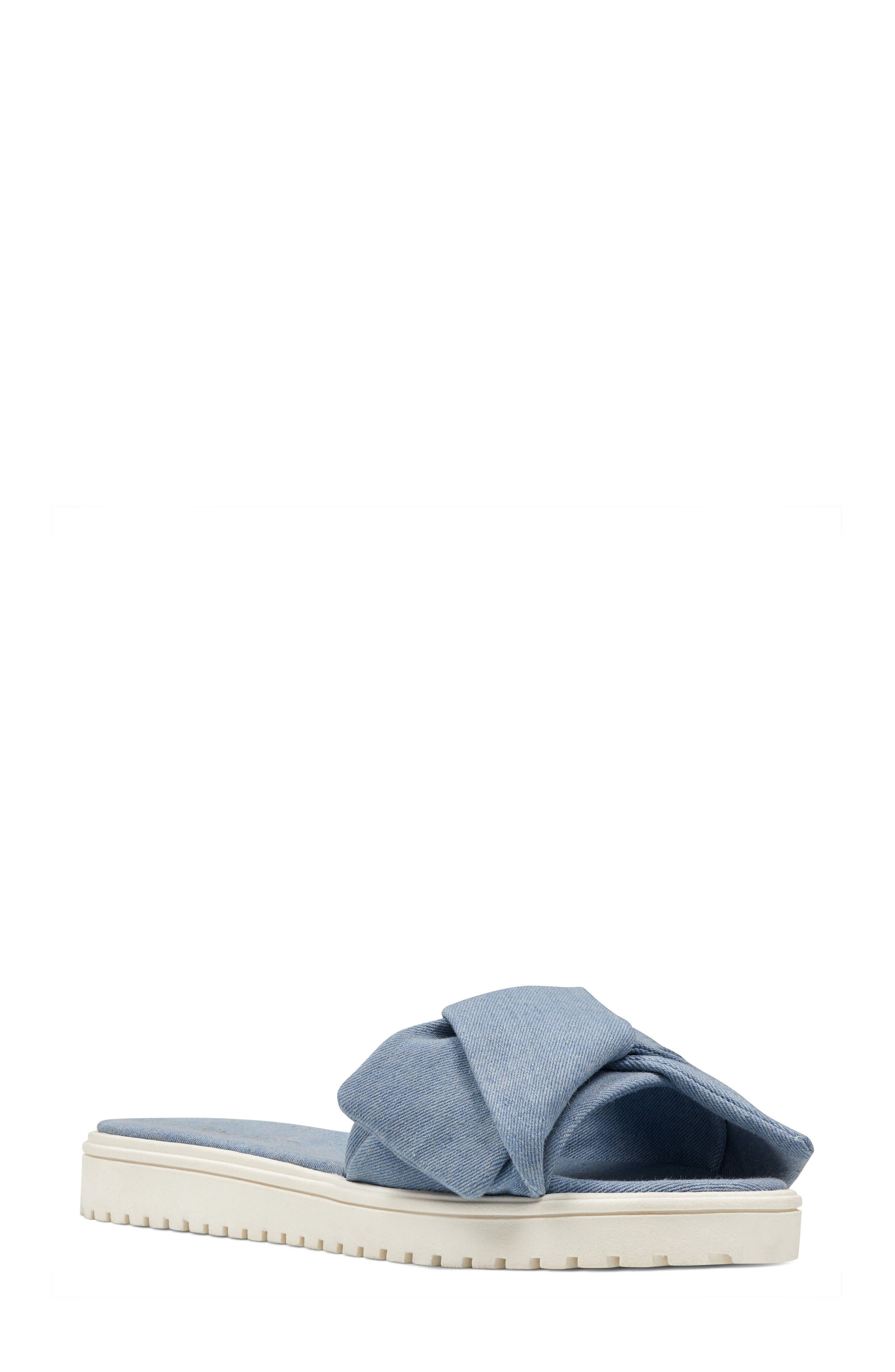 Nine West Ruth Slide Sandal (Women)