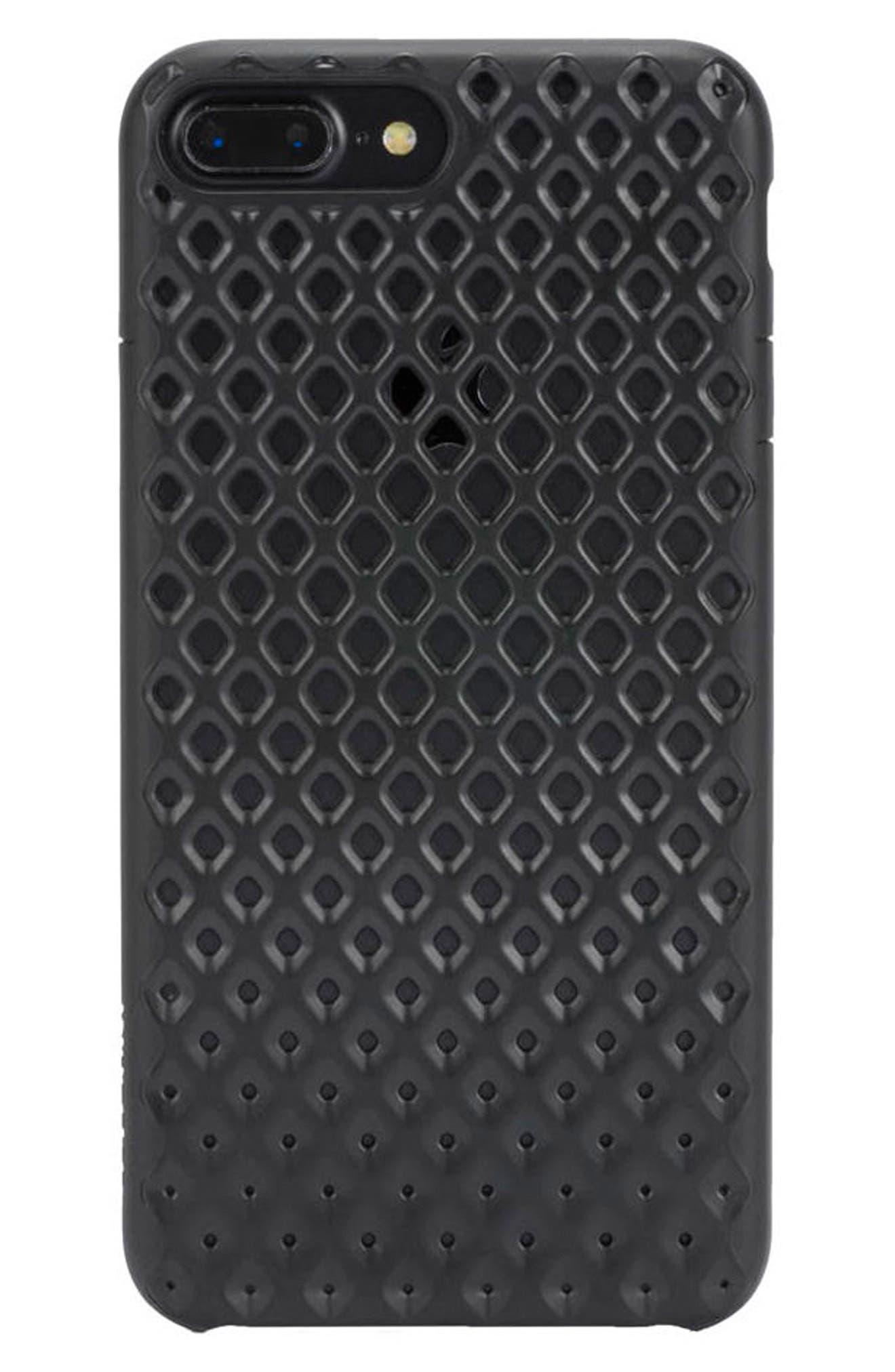 Lite iPhone 7 Plus & 8 Plus Case,                             Main thumbnail 1, color,                             Black