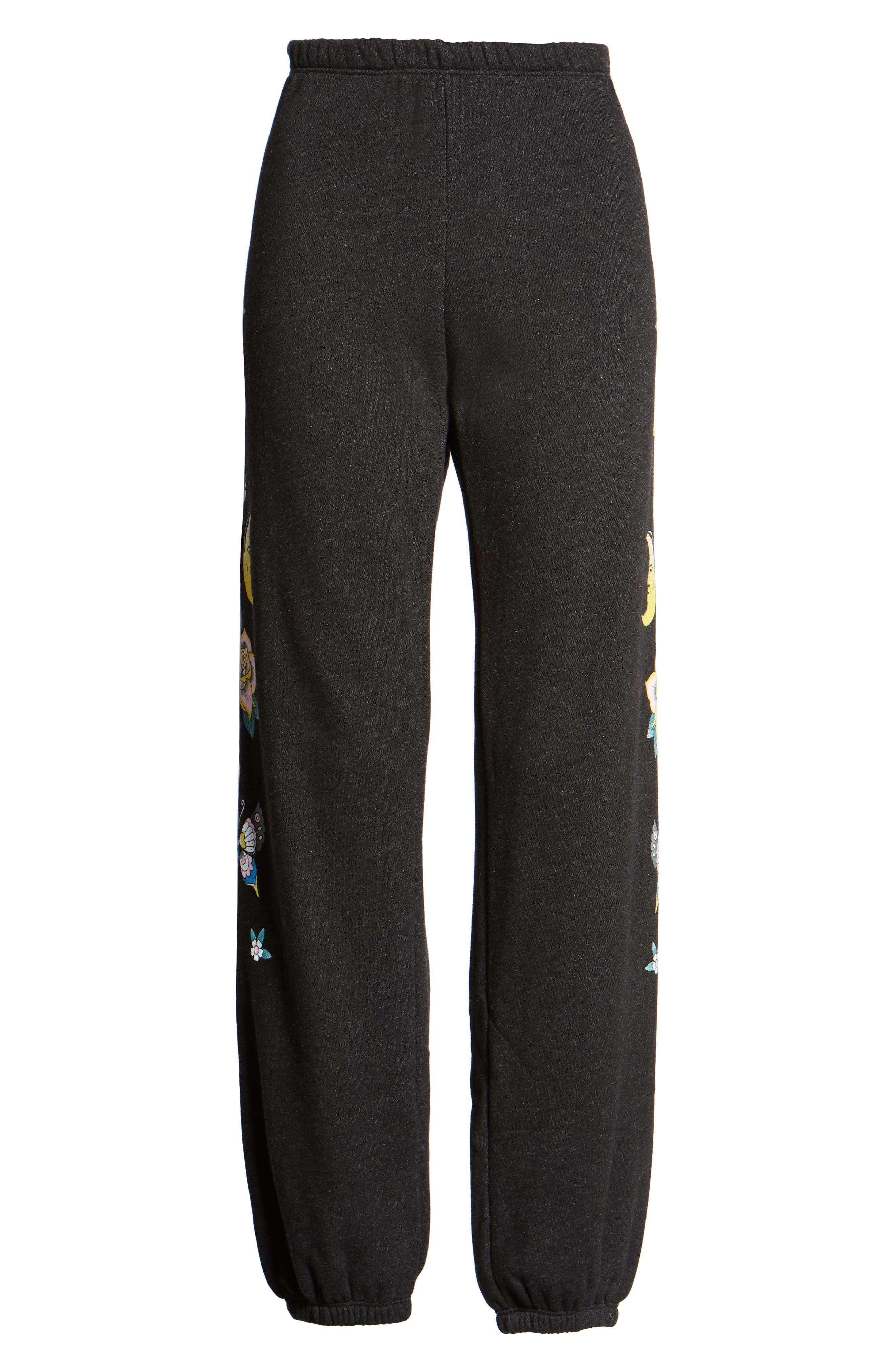 Flash Sweatpants,                             Alternate thumbnail 6, color,                             Black
