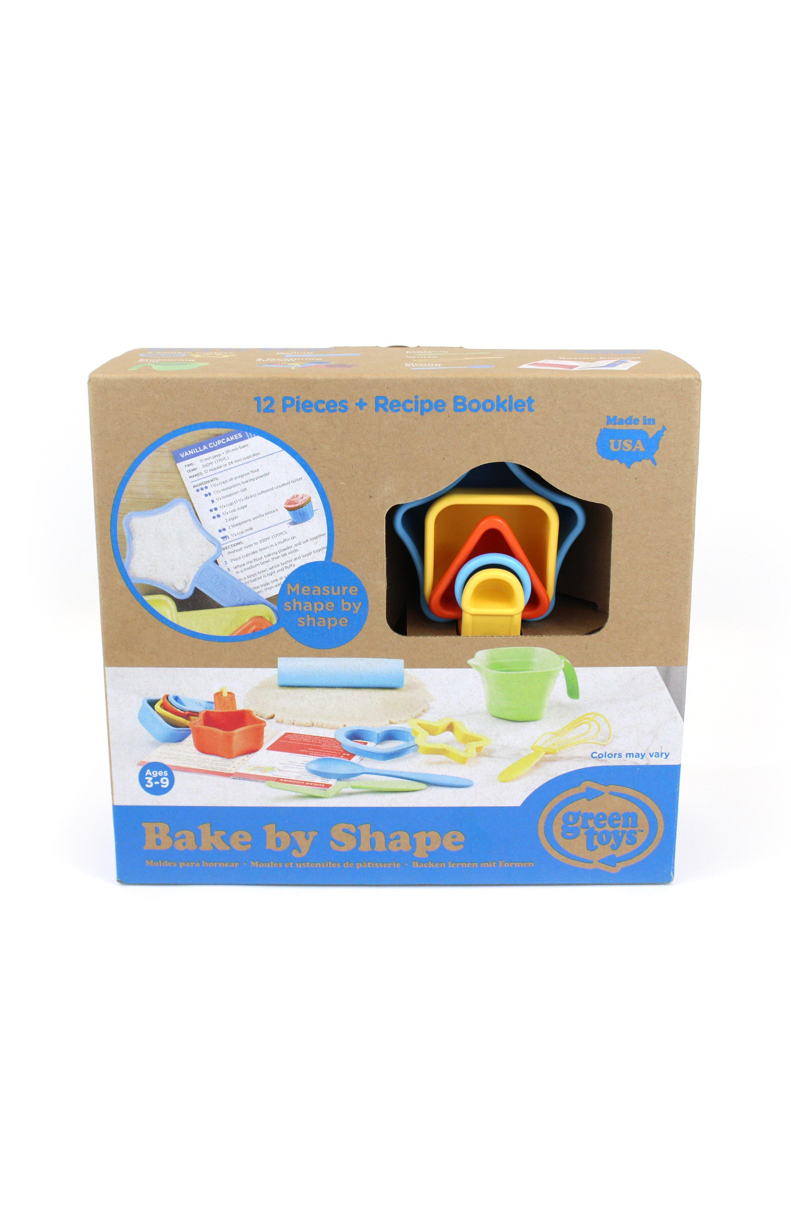 Alternate Image 5  - Green Toys 12-Piece Bake by Shape Baking Set