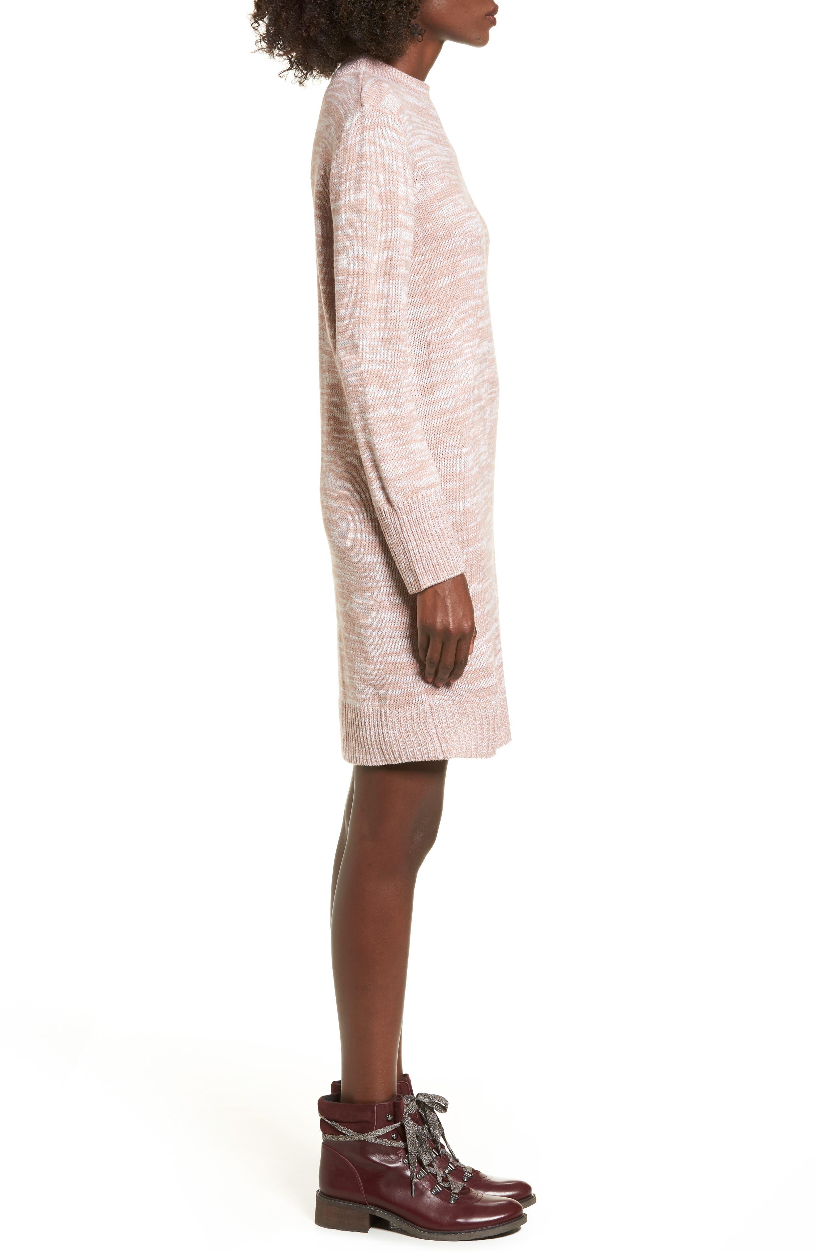 Alternate Image 3  - Cotton Emporium Mock Neck Sweater