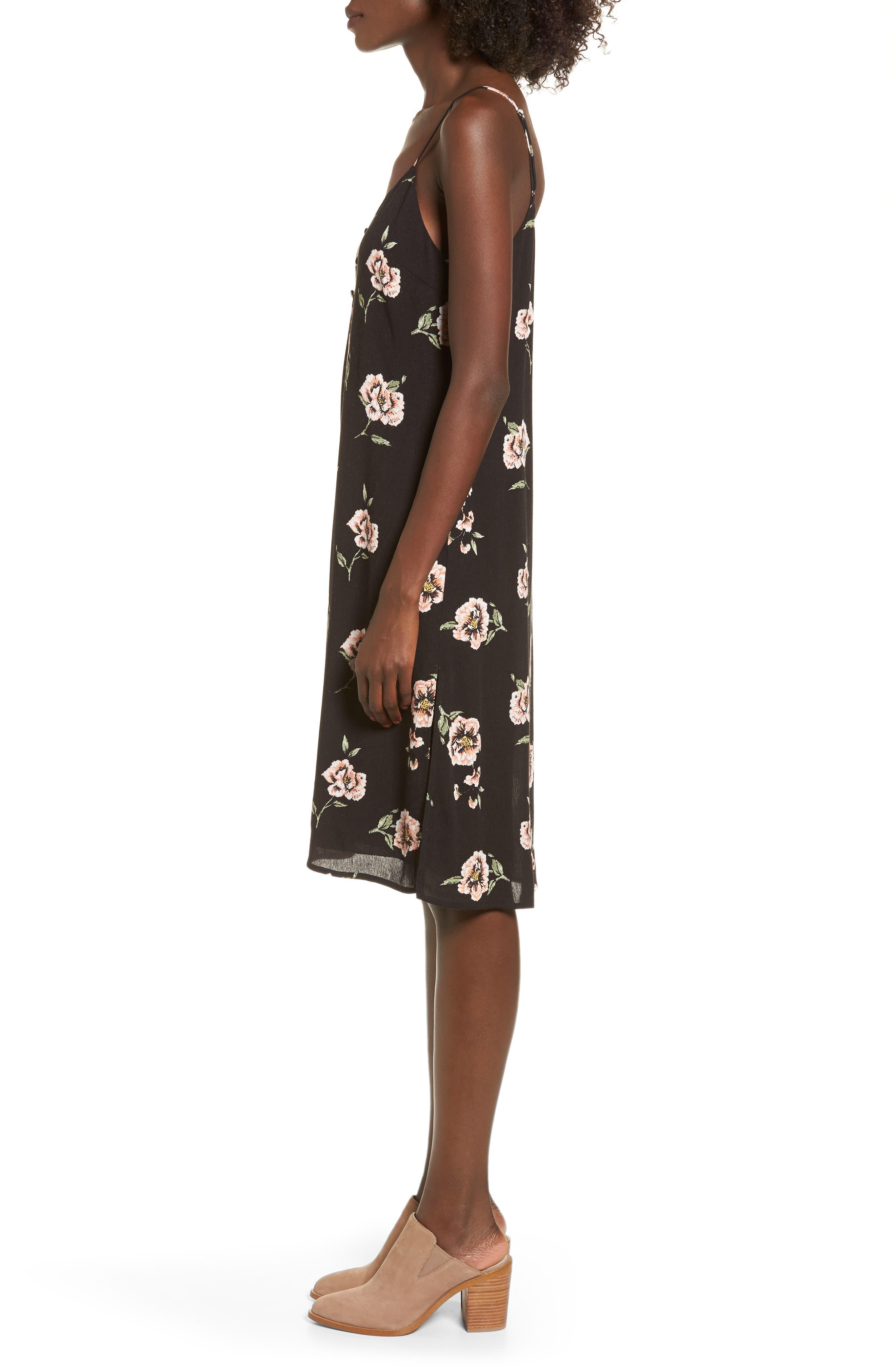 Alternate Image 3  - Dee Elly Floral Slipdress