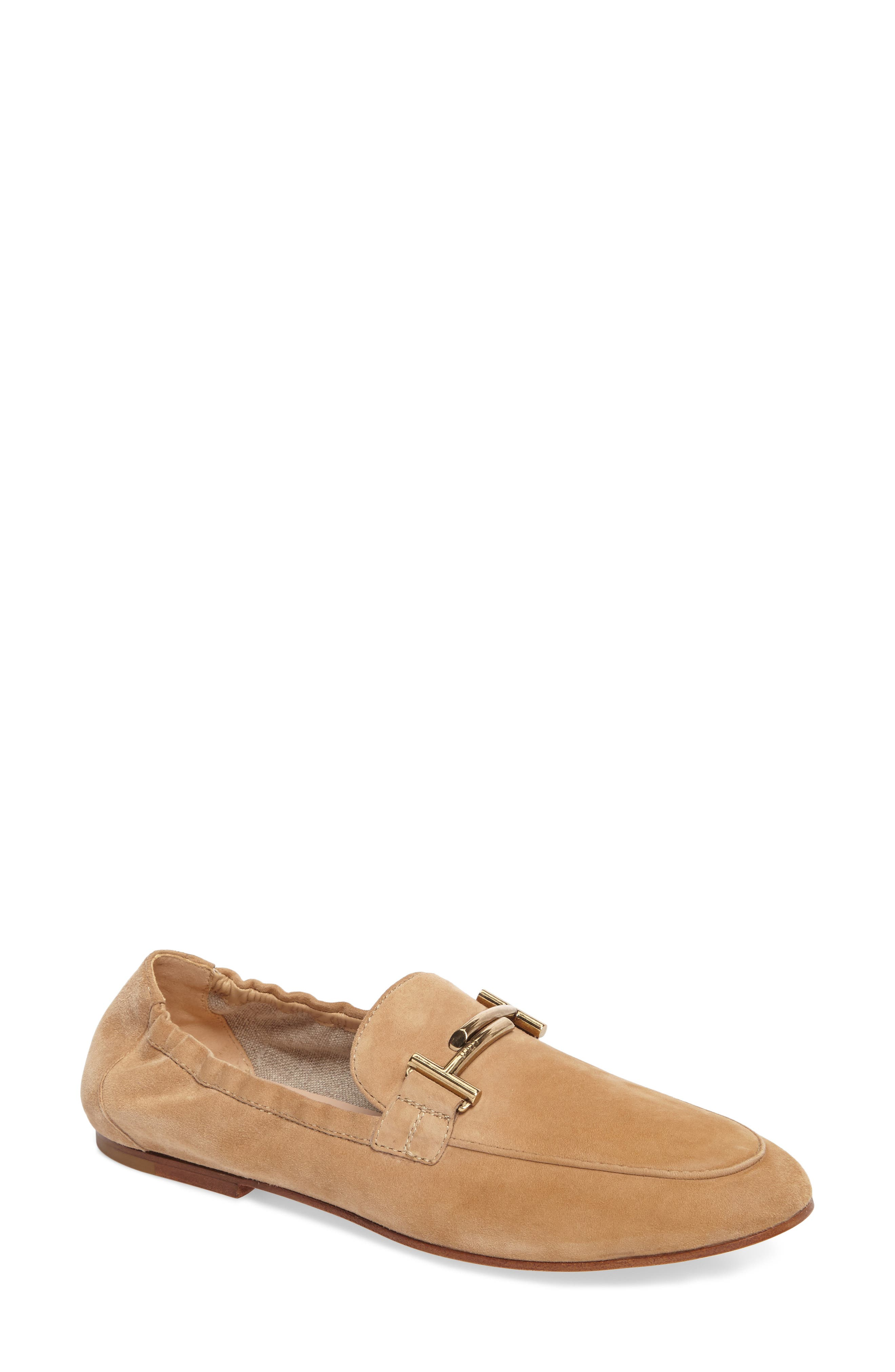 Alternate Image 1 Selected - Tod's Double T Scrunch Loafer (Women)