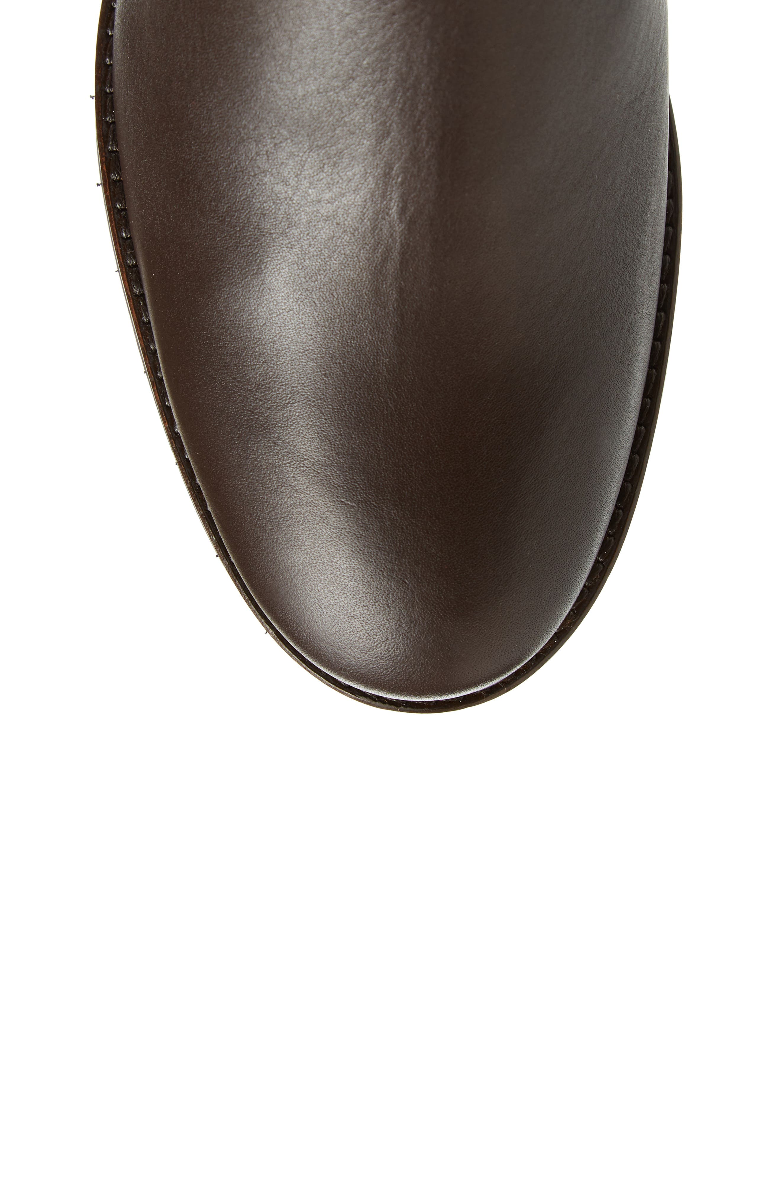 Anson Waterproof Boot,                             Alternate thumbnail 5, color,                             Brown Leather