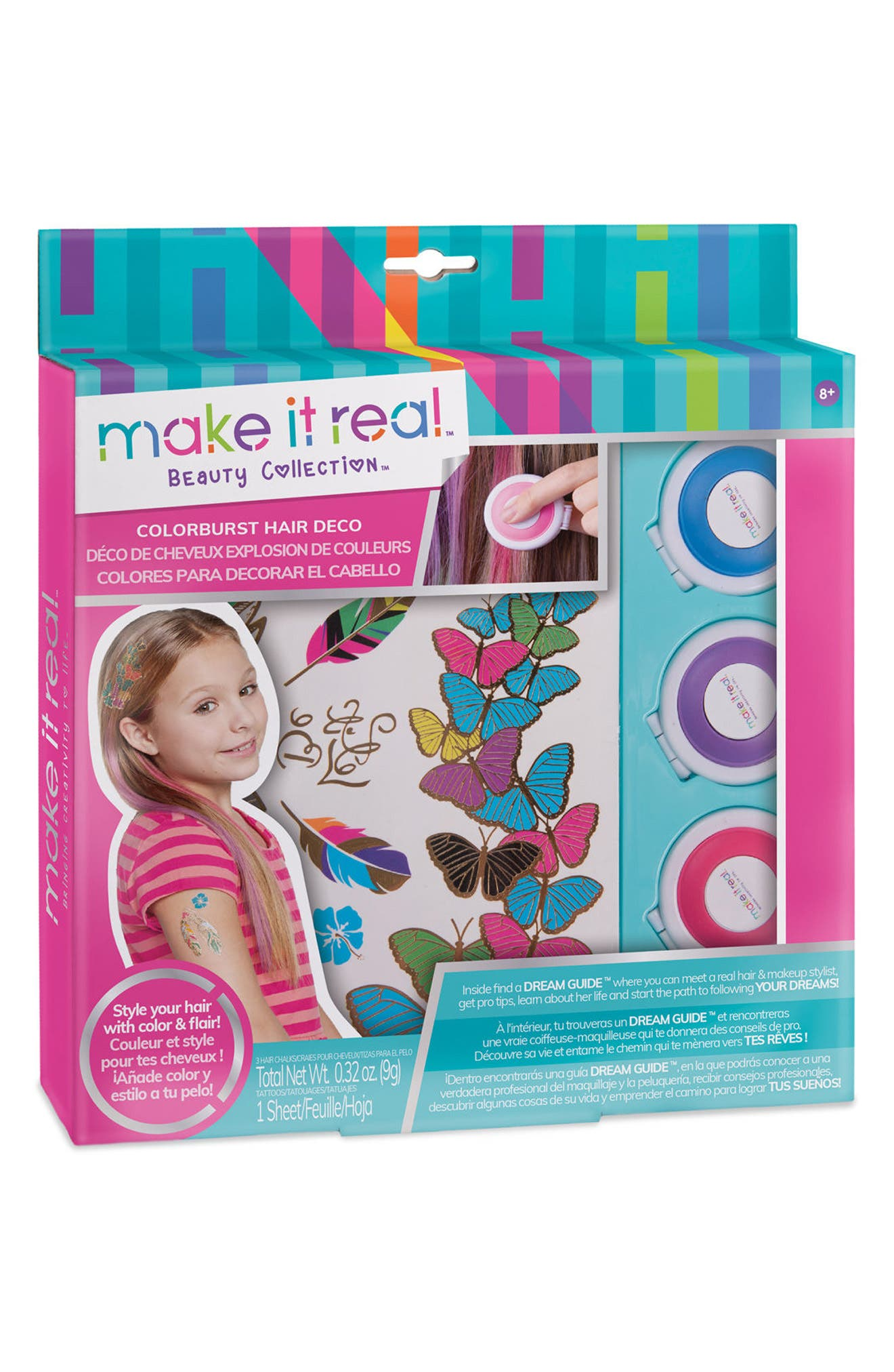 Make It Real Colorburst Hair Deco Kit