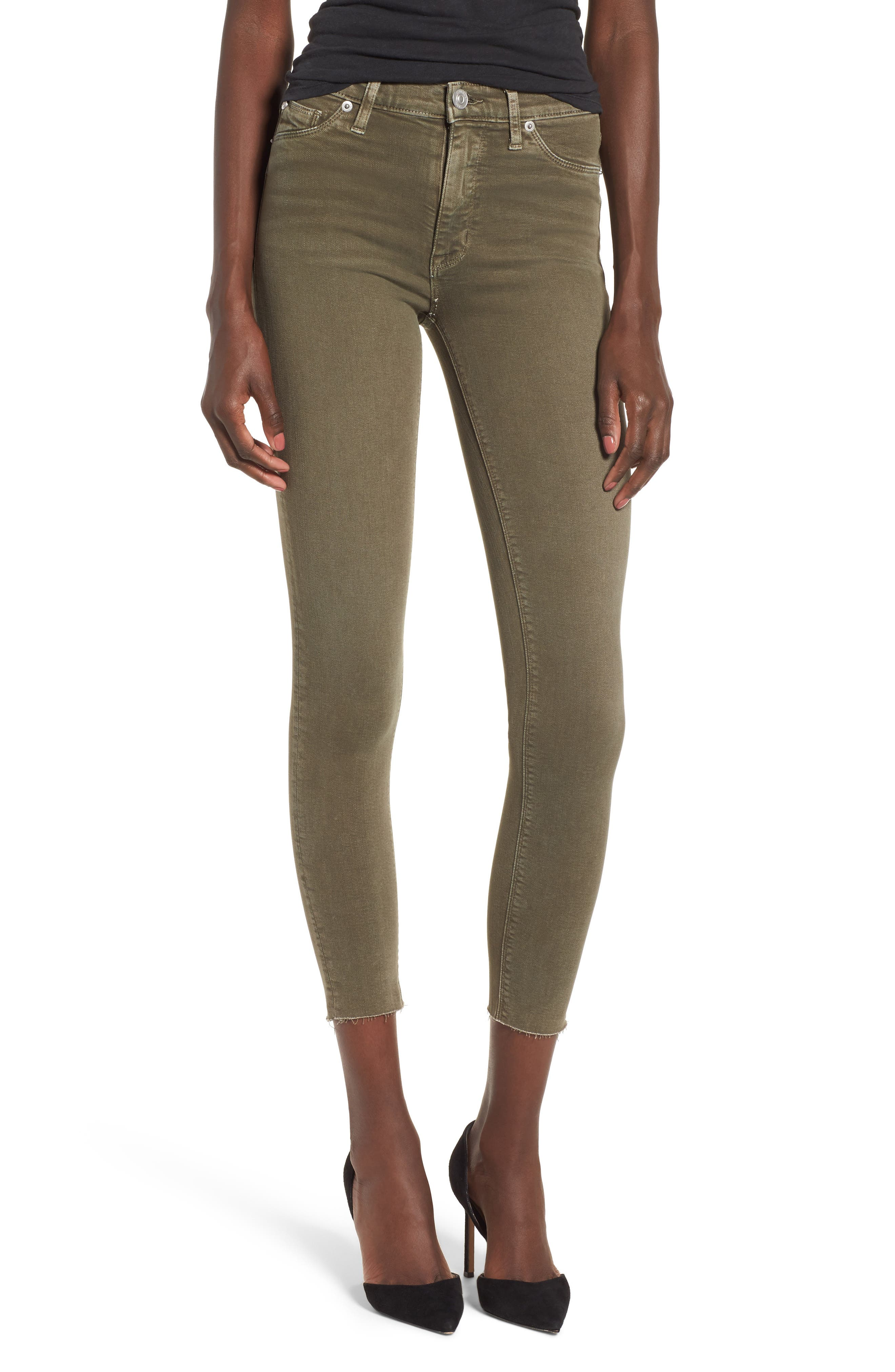 Alternate Image 1 Selected - Hudson Jeans Barbara High Waist Ankle Skinny Jeans