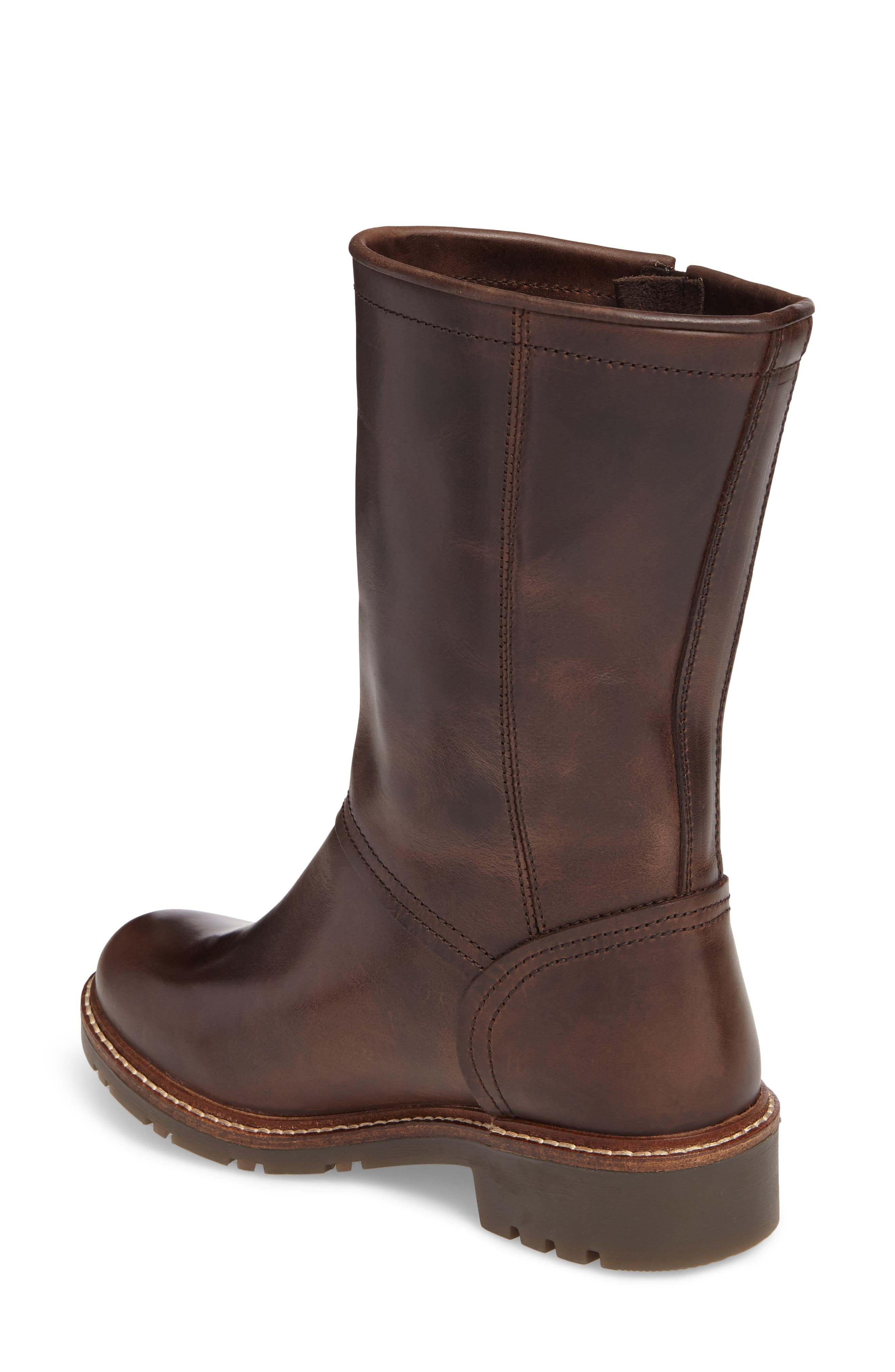 Sasi Waterproof Gore-Tex<sup>®</sup> Boot,                             Alternate thumbnail 2, color,                             Dark Brown Rug Leather