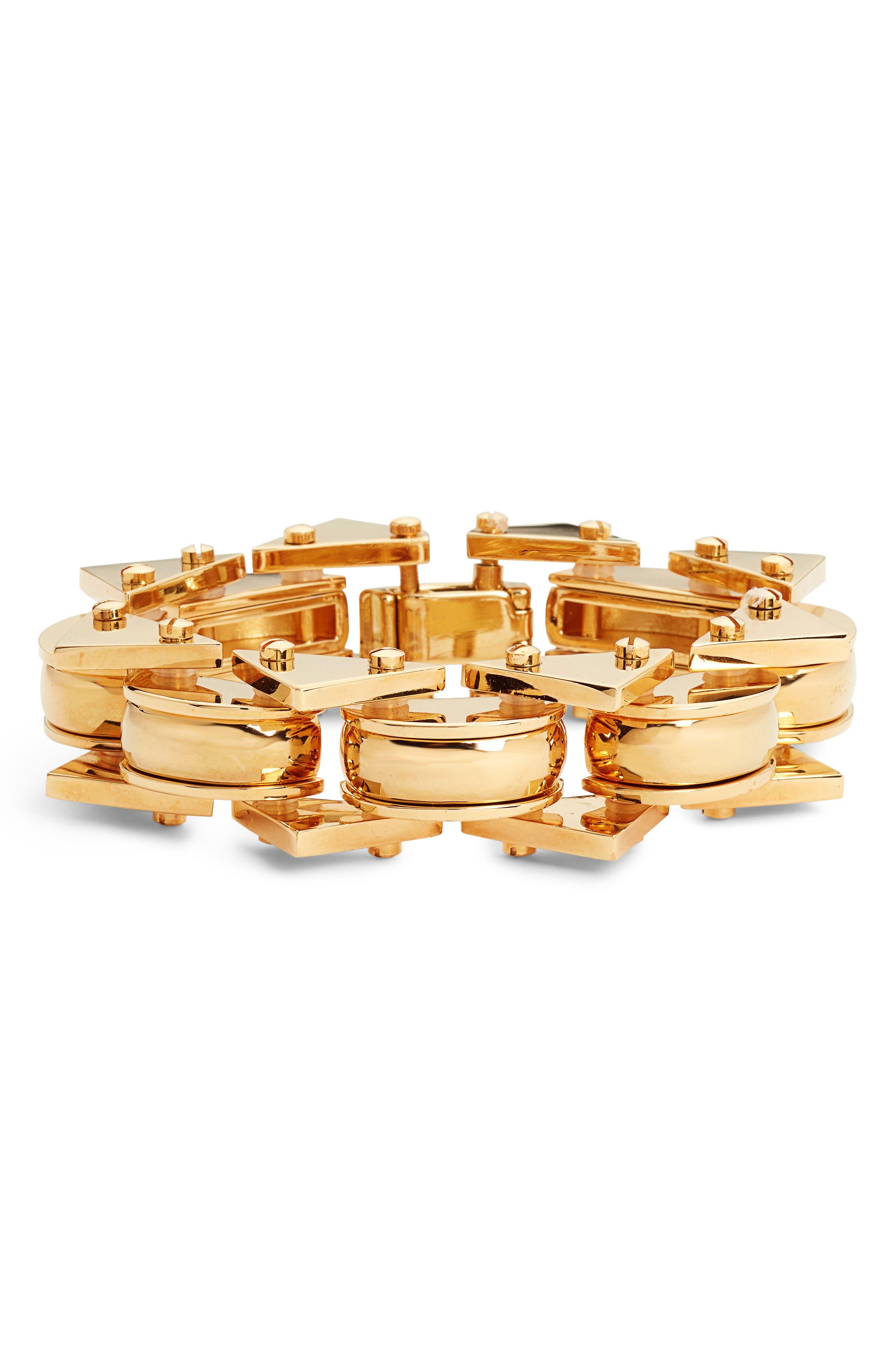 Satellite Bracelet,                             Main thumbnail 1, color,                             Gold