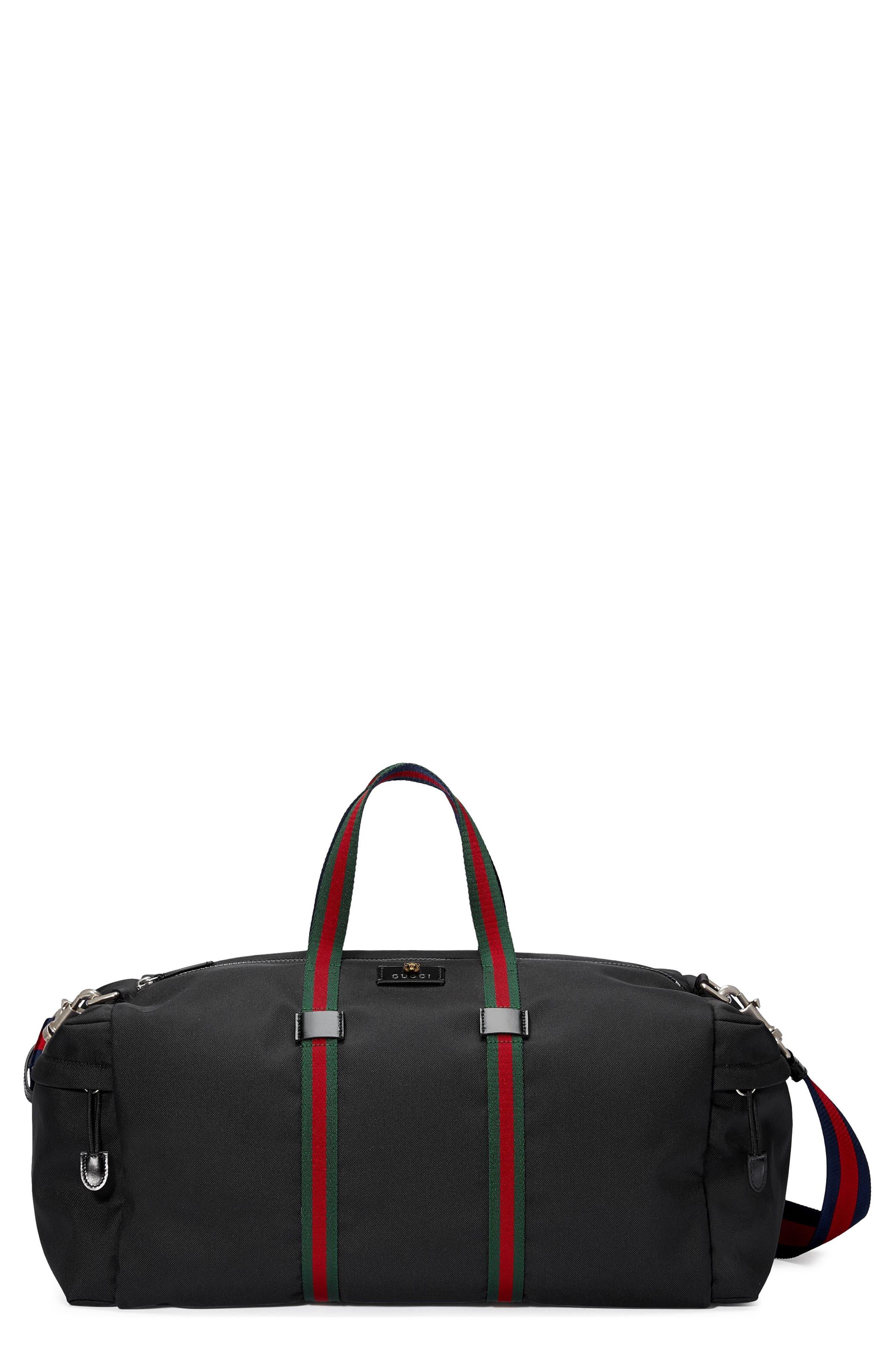 Gucci Techpack Canvas Duffle Bag