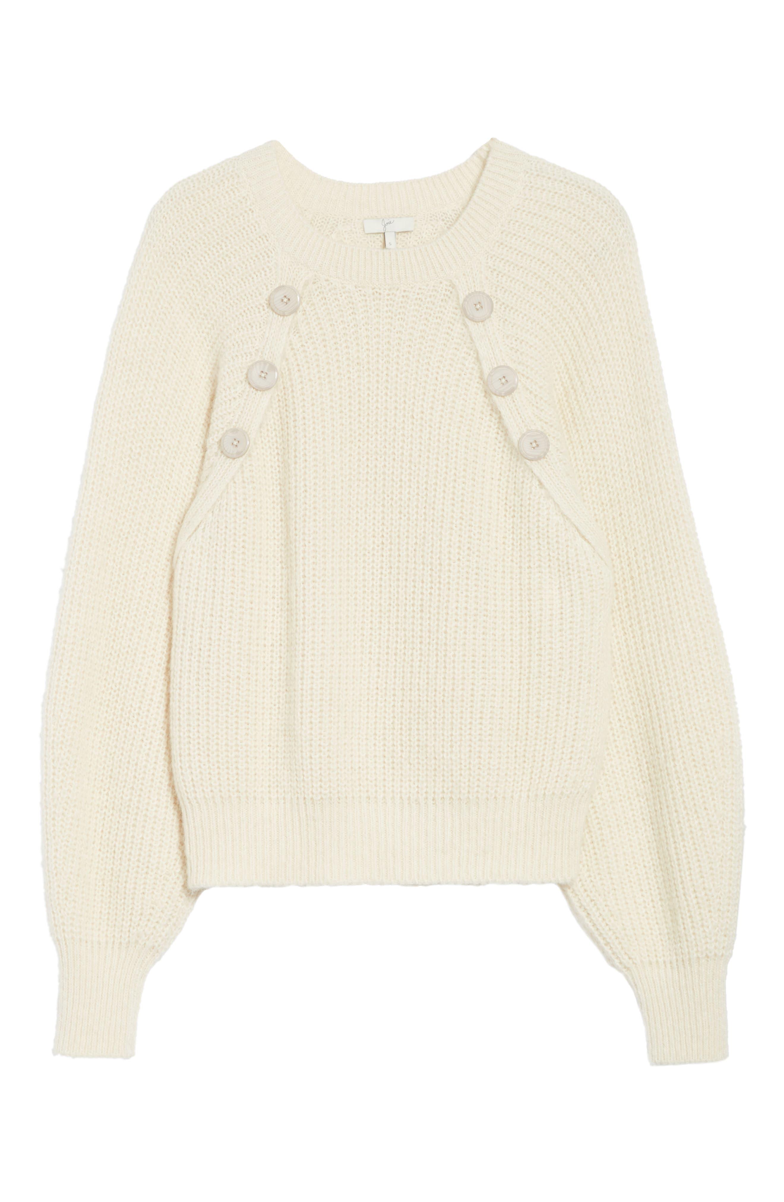 Aine Sweater,                             Alternate thumbnail 6, color,                             Porcelain