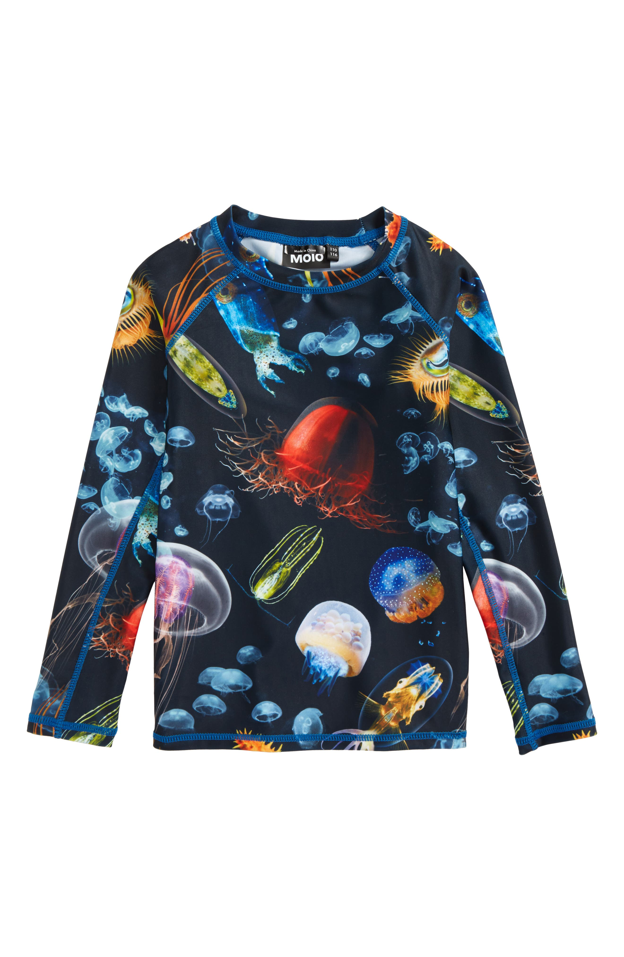 molo Neptune Long Sleeve Rashguard (Toddler Boys, Little Boys & Big Boys)