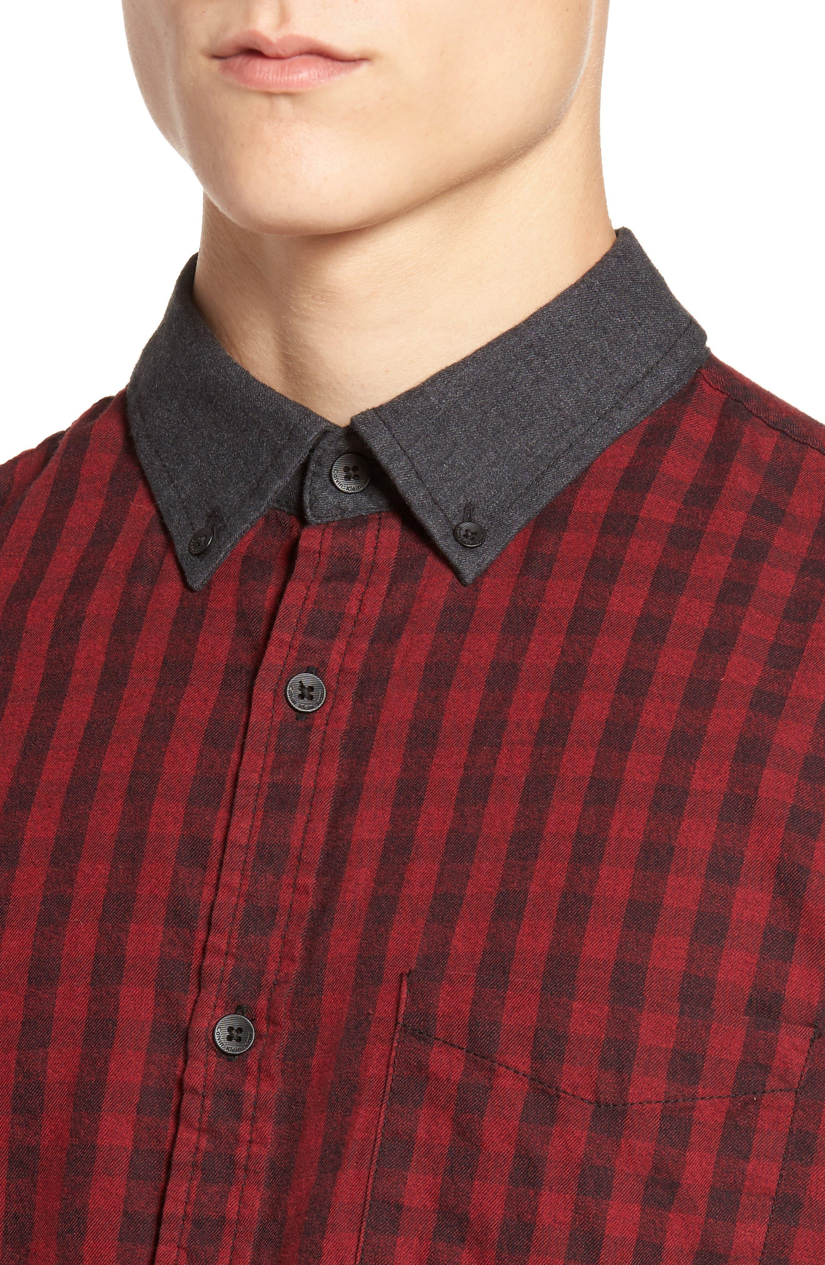 Alternate Image 4  - Calvin Klein Jeans Barn Flannel Shirt