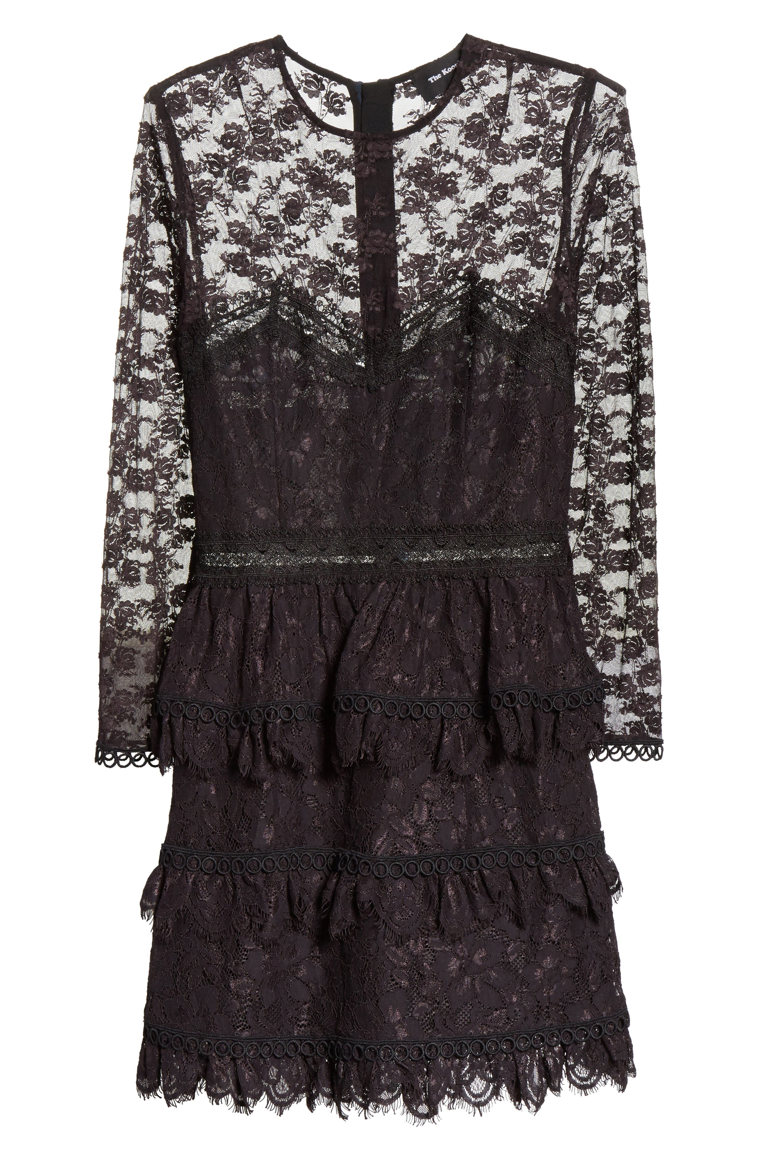 Alternate Image 6  - The Kooples Floral Lace Dress