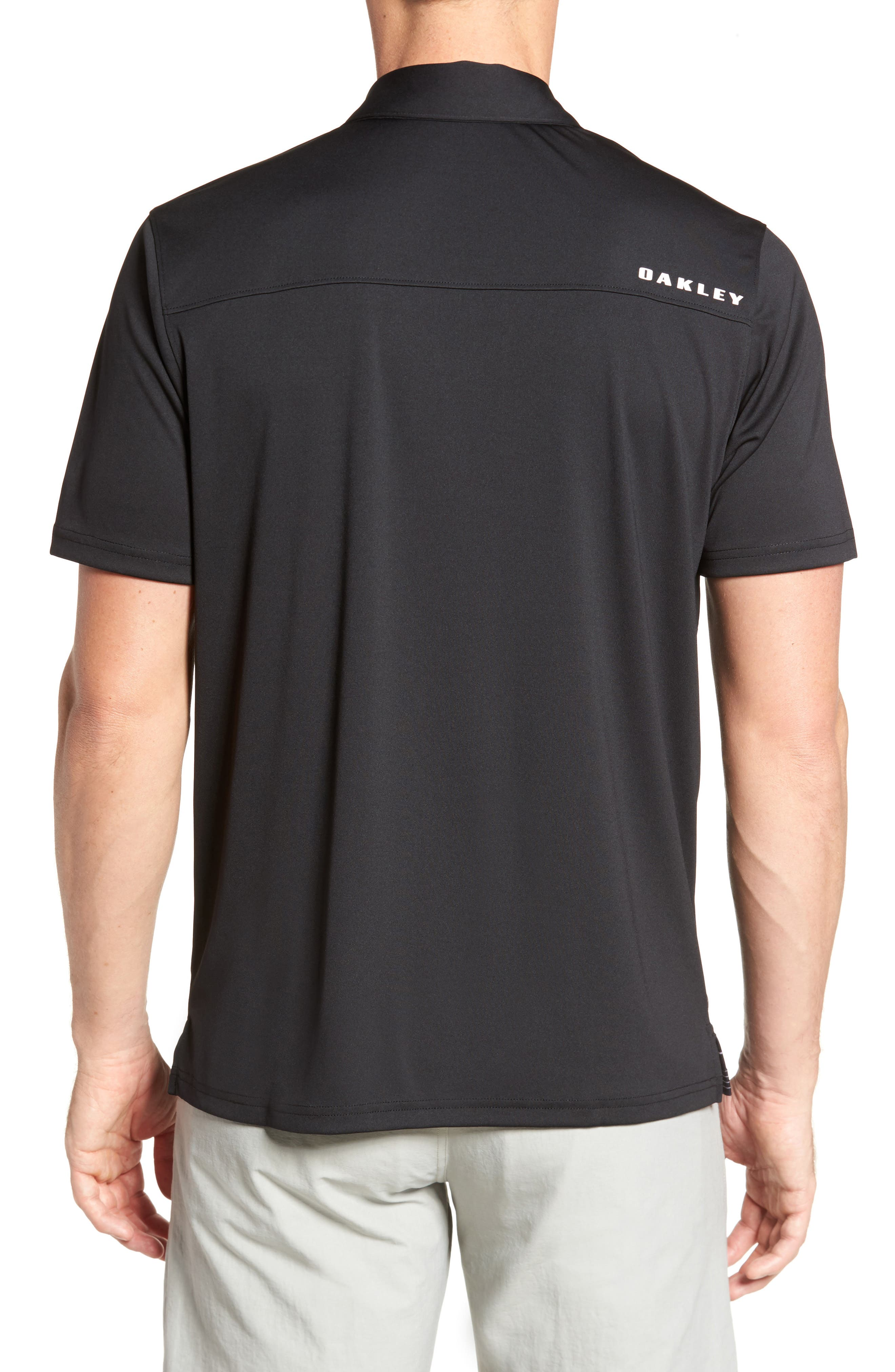 High Crest Polo Shirt,                             Alternate thumbnail 2, color,                             Blackout