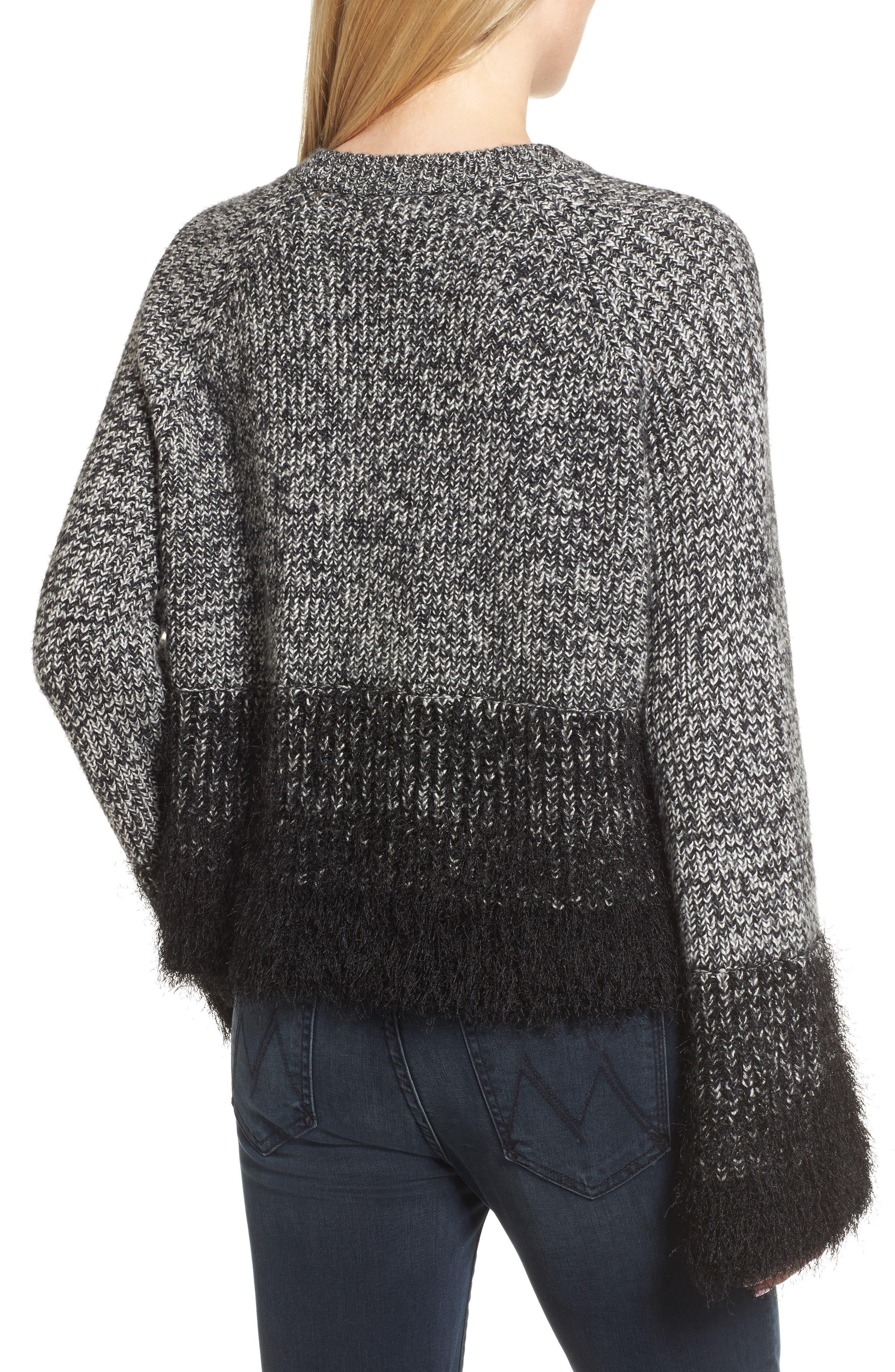 Alternate Image 3  - 1.STATE Eyelash Fringe Sweater