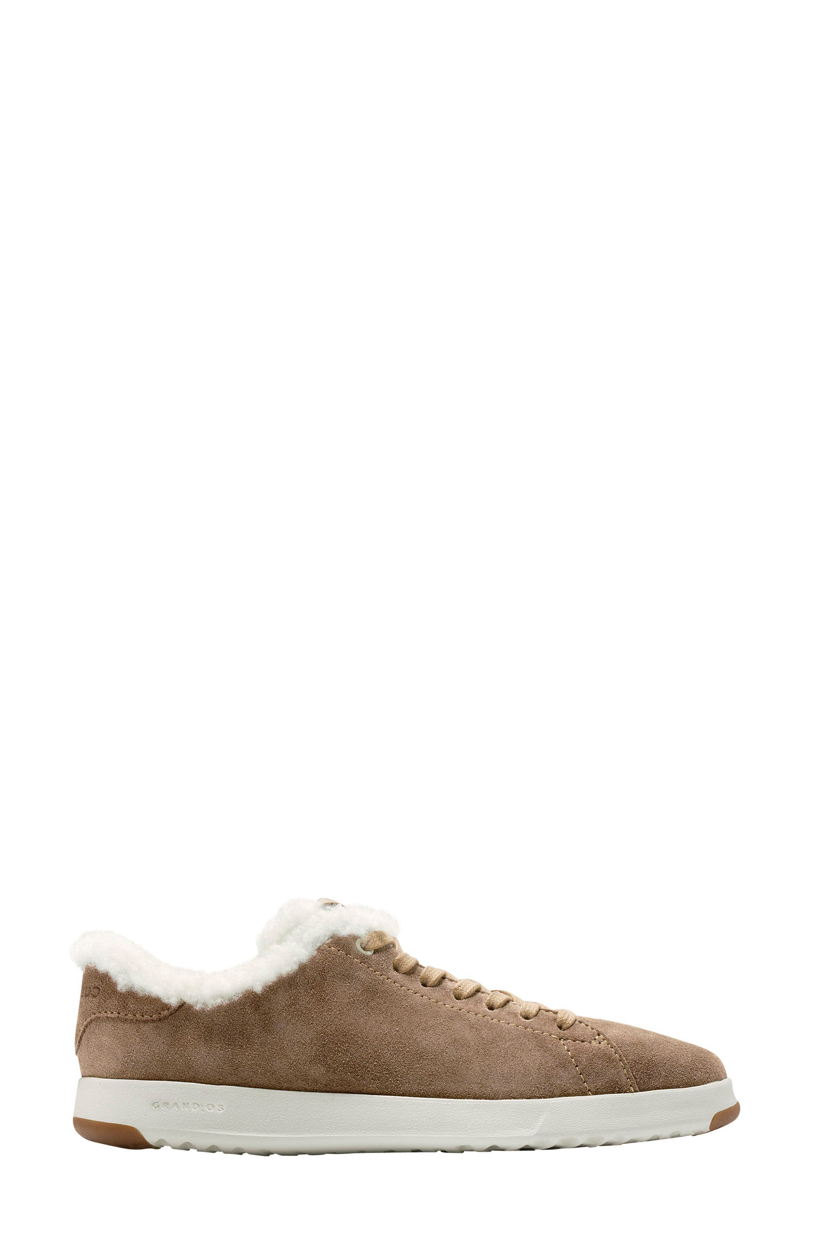 GrandPro Tennis Shoe,                             Alternate thumbnail 3, color,                             Warm Sand Suede